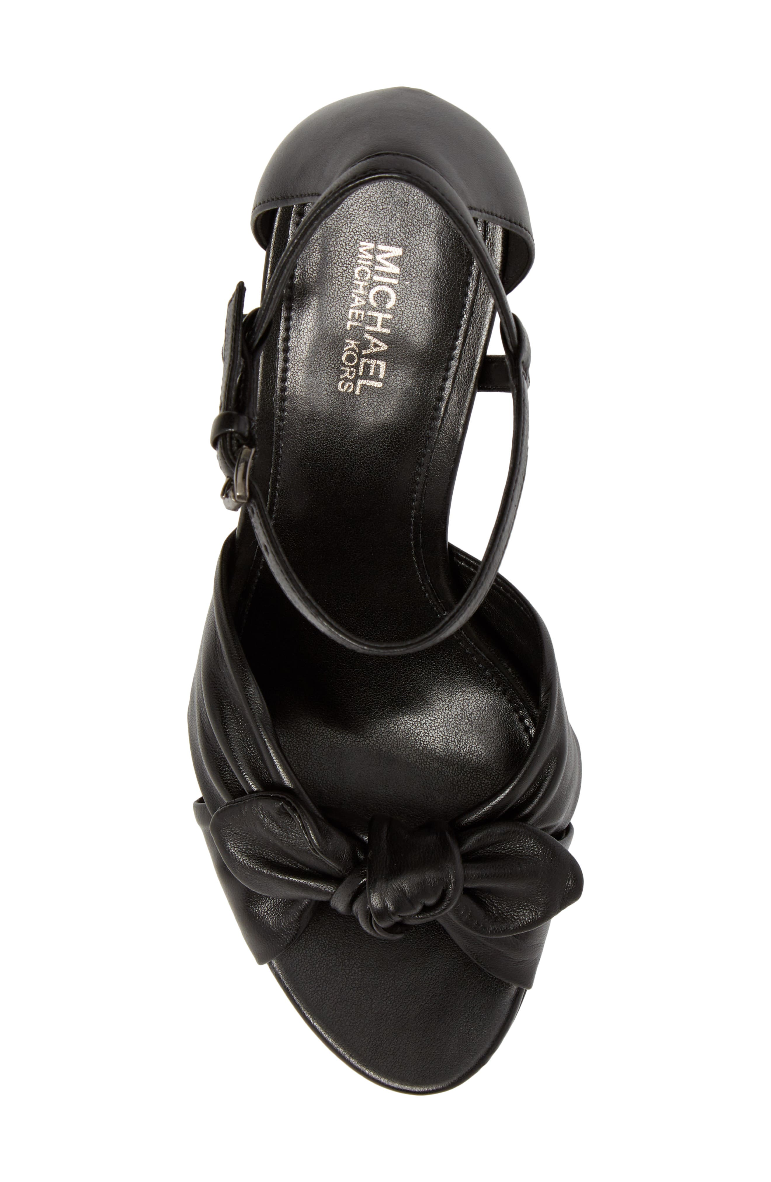 Pippa Sandal,                             Alternate thumbnail 5, color,                             Black