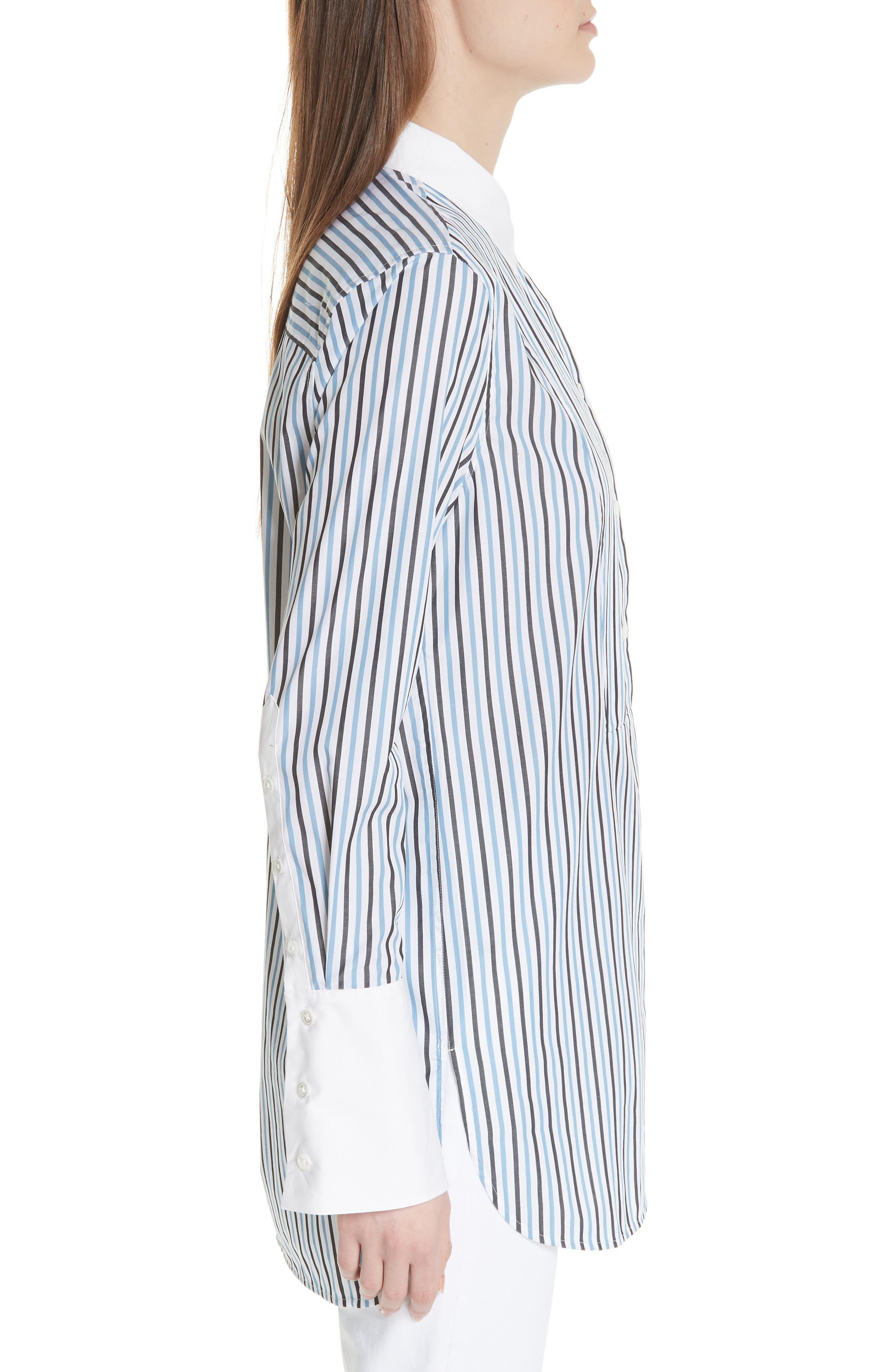 Alternate Image 3  - Equipment Arlette Tuxedo Cotton Blouse