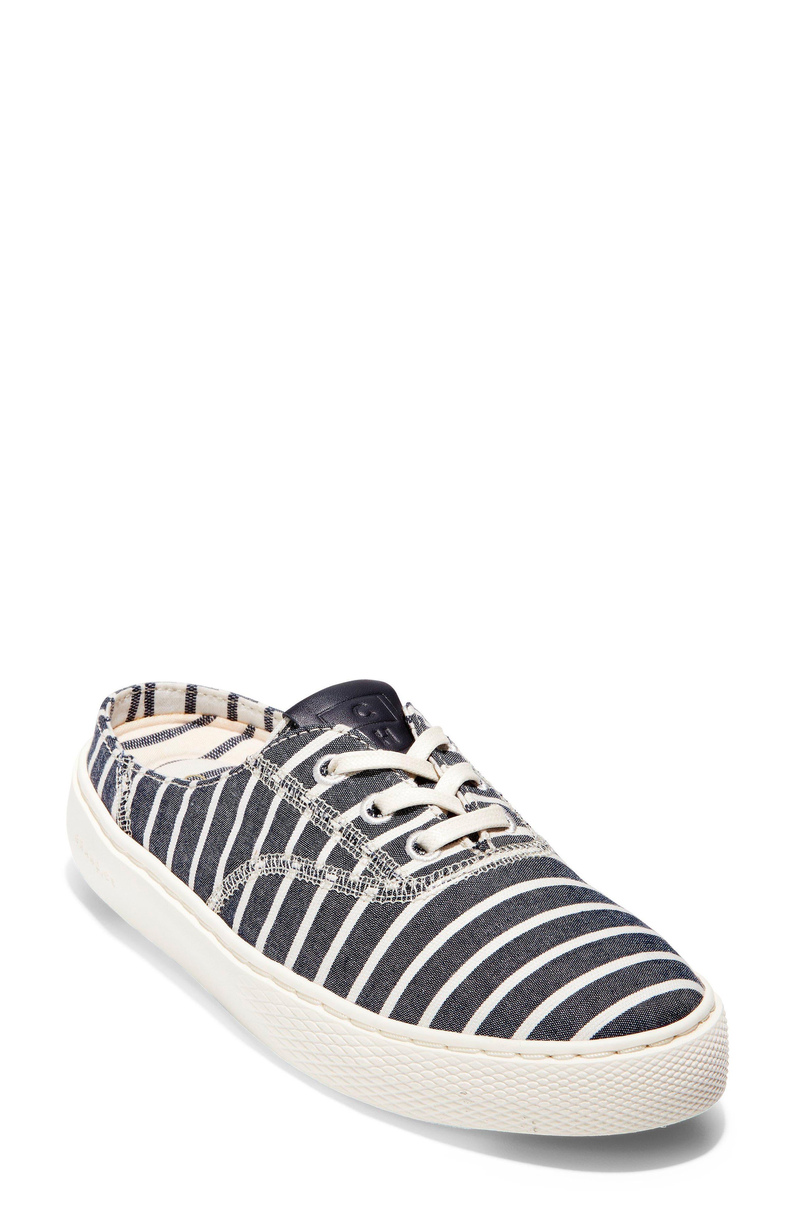 GrandPro Deck Sneaker,                             Main thumbnail 1, color,                             Freeport Stripe Fabric
