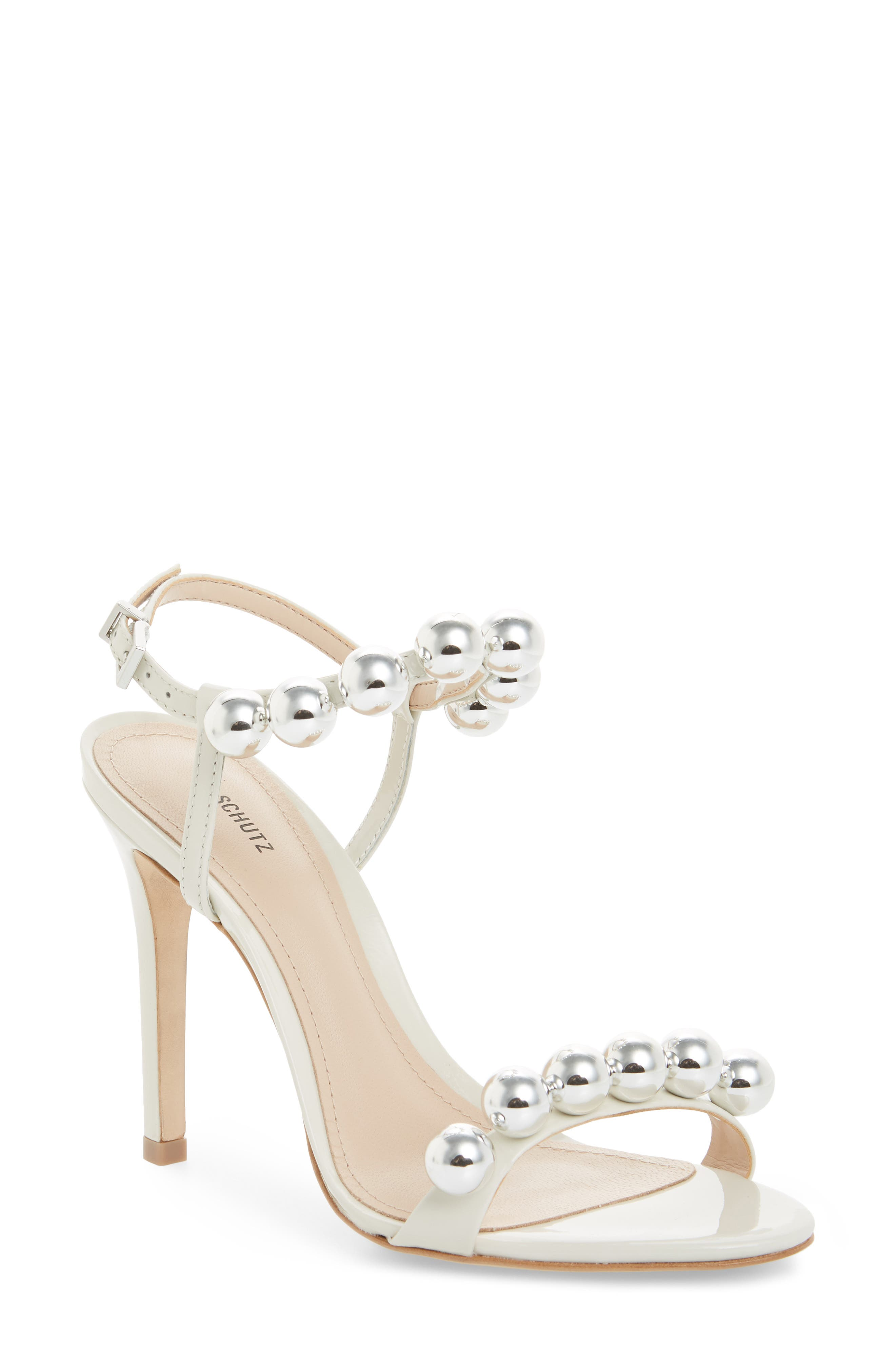Nellie Sandal, Pearl Leather