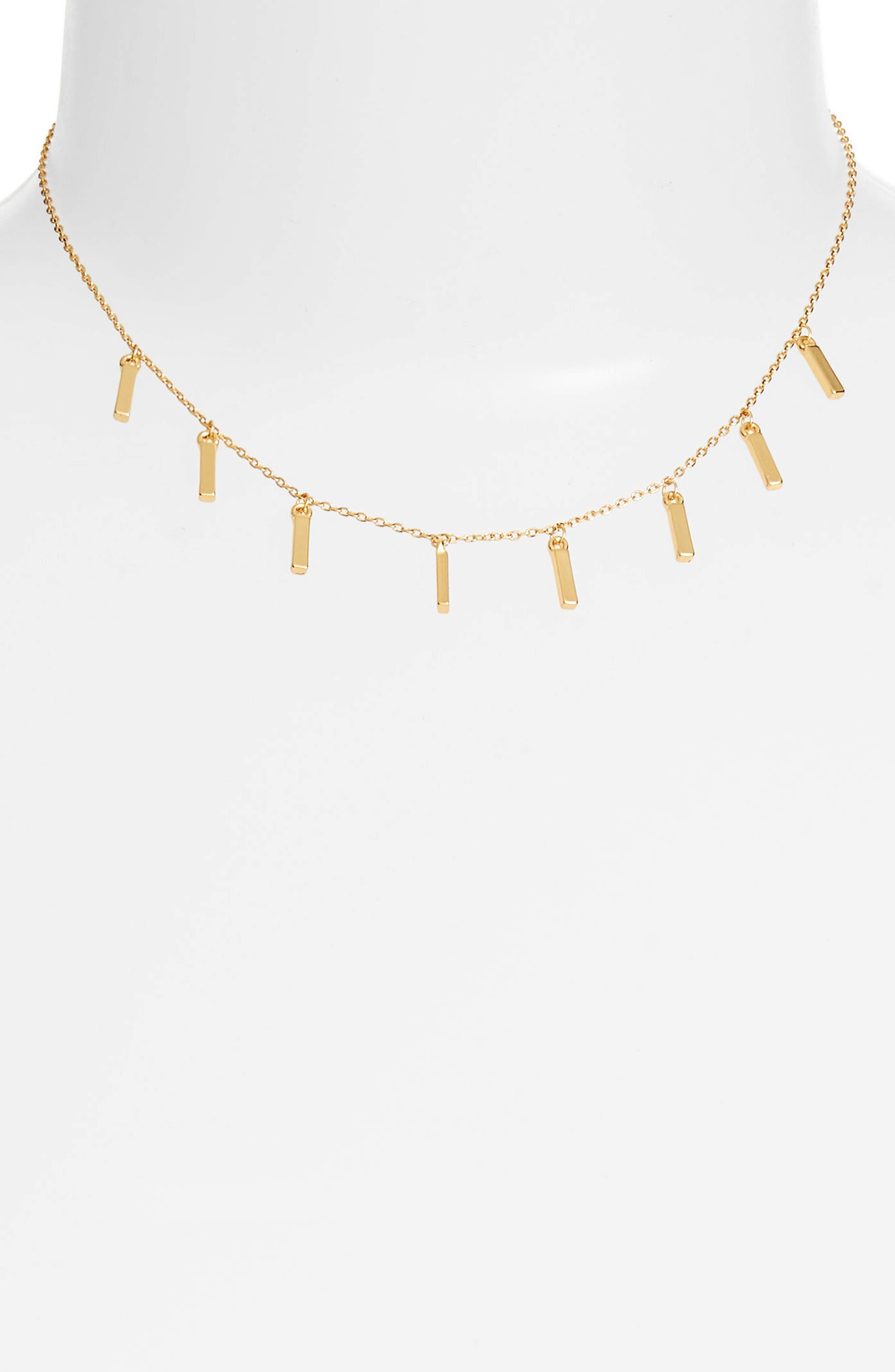 Duchess Necklace,                         Main,                         color, Gold
