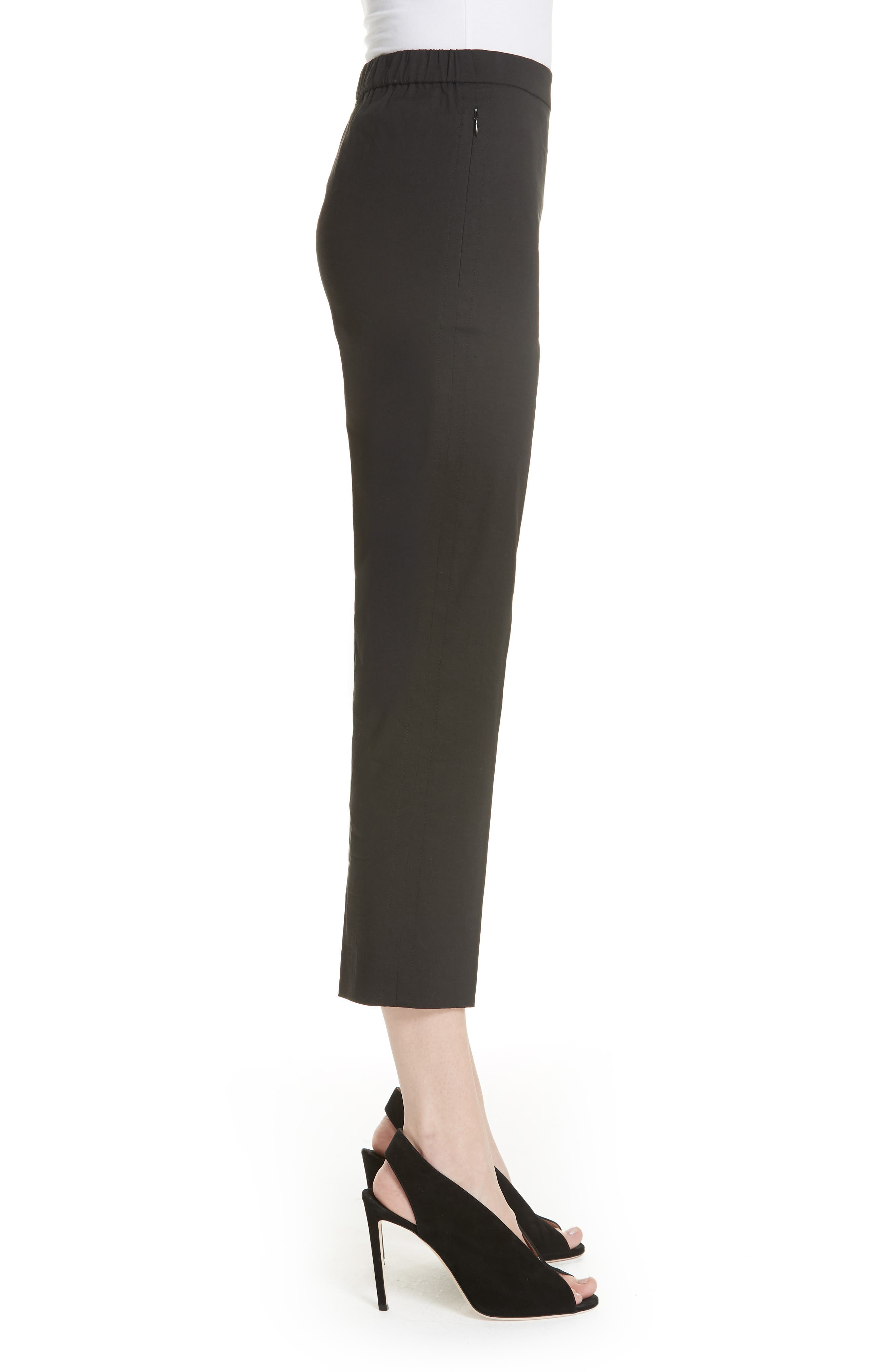 Alternate Image 3  - Theory Pull-On Linen Blend Pants