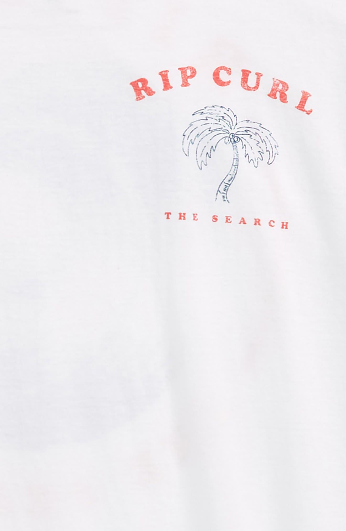 Beach Break Graphic T-Shirt,                             Alternate thumbnail 3, color,                             White