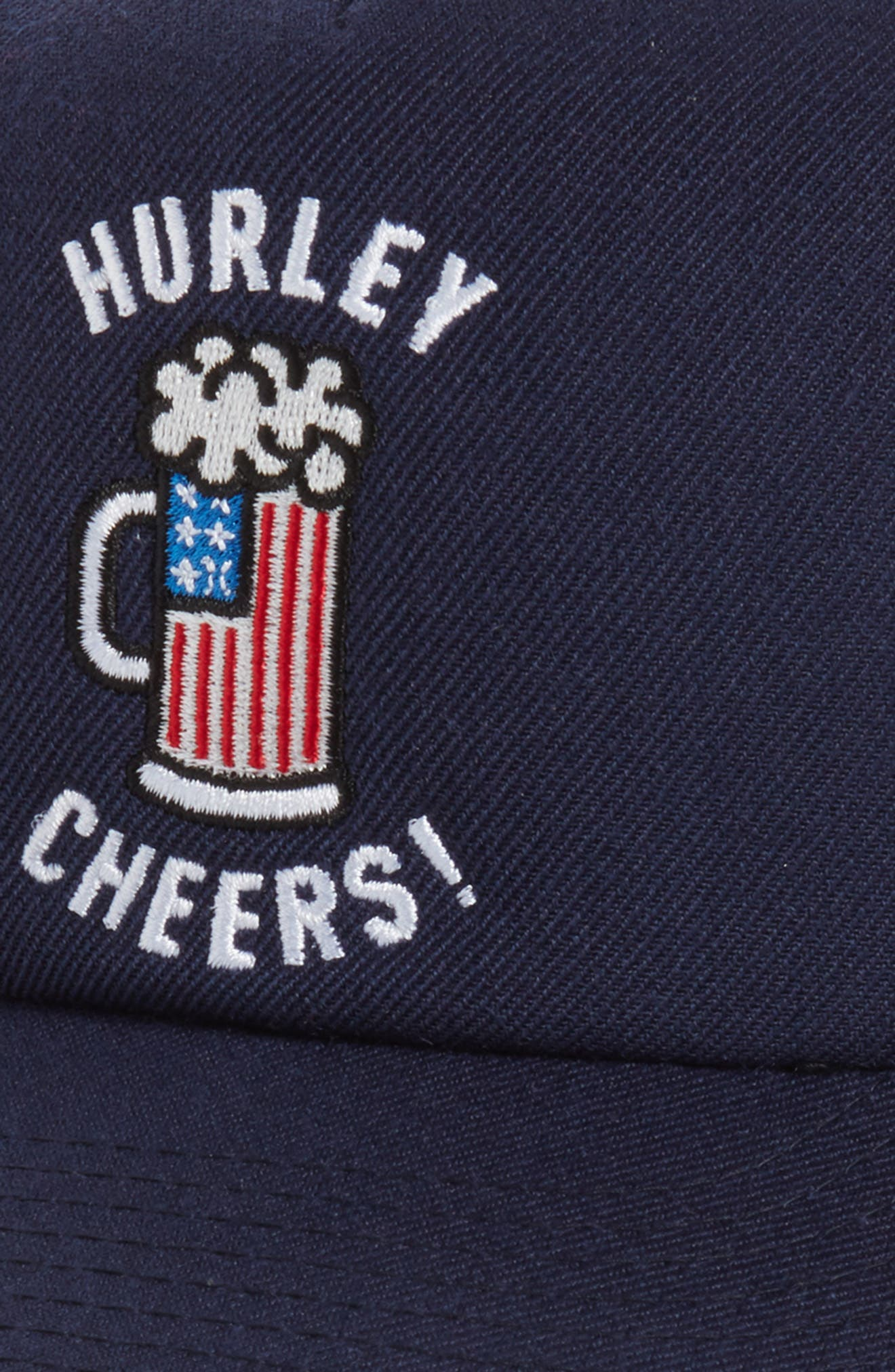 Cheers USA Flag Cap,                             Alternate thumbnail 3, color,                             Obsidian