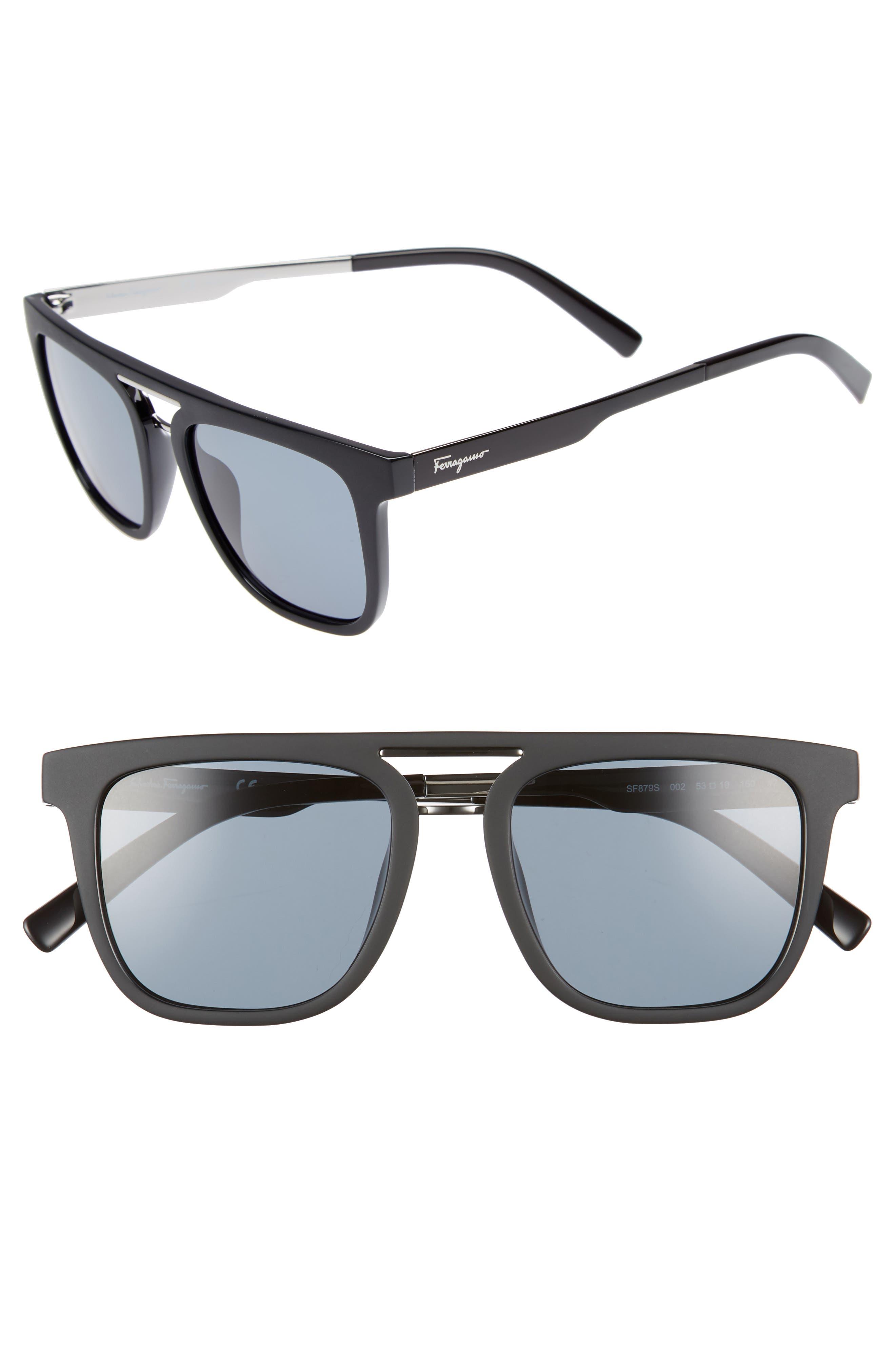 Main Image - Salvatore Ferragamo 53mm Sunglasses