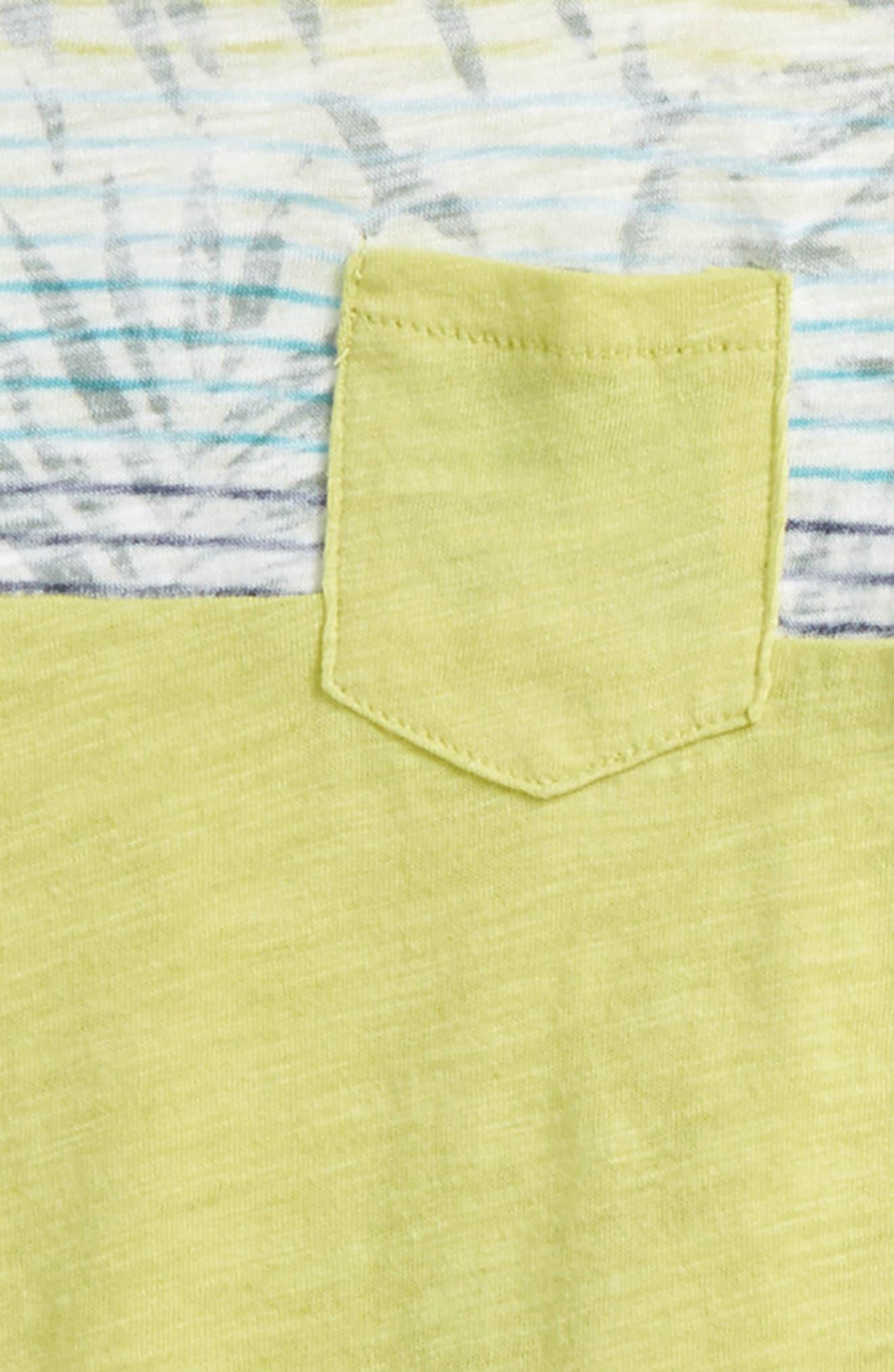 Alternate Image 2  - Splendid Reverse Print T-Shirt & Shorts Set (Toddler Boys & Little Boys)