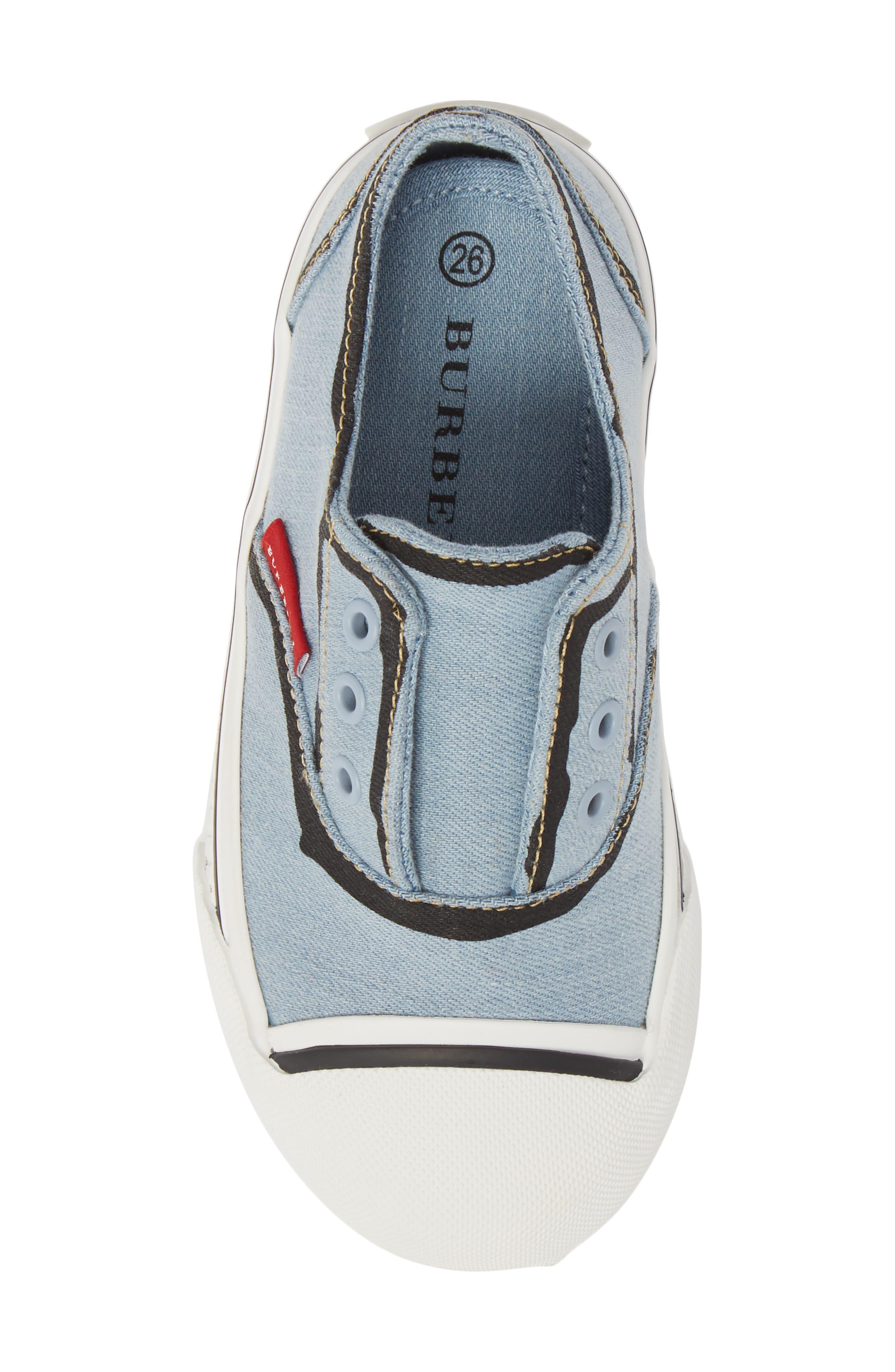 Alternate Image 5  - Burberry Lipton Slip-On Sneaker (Walker & Toddler)