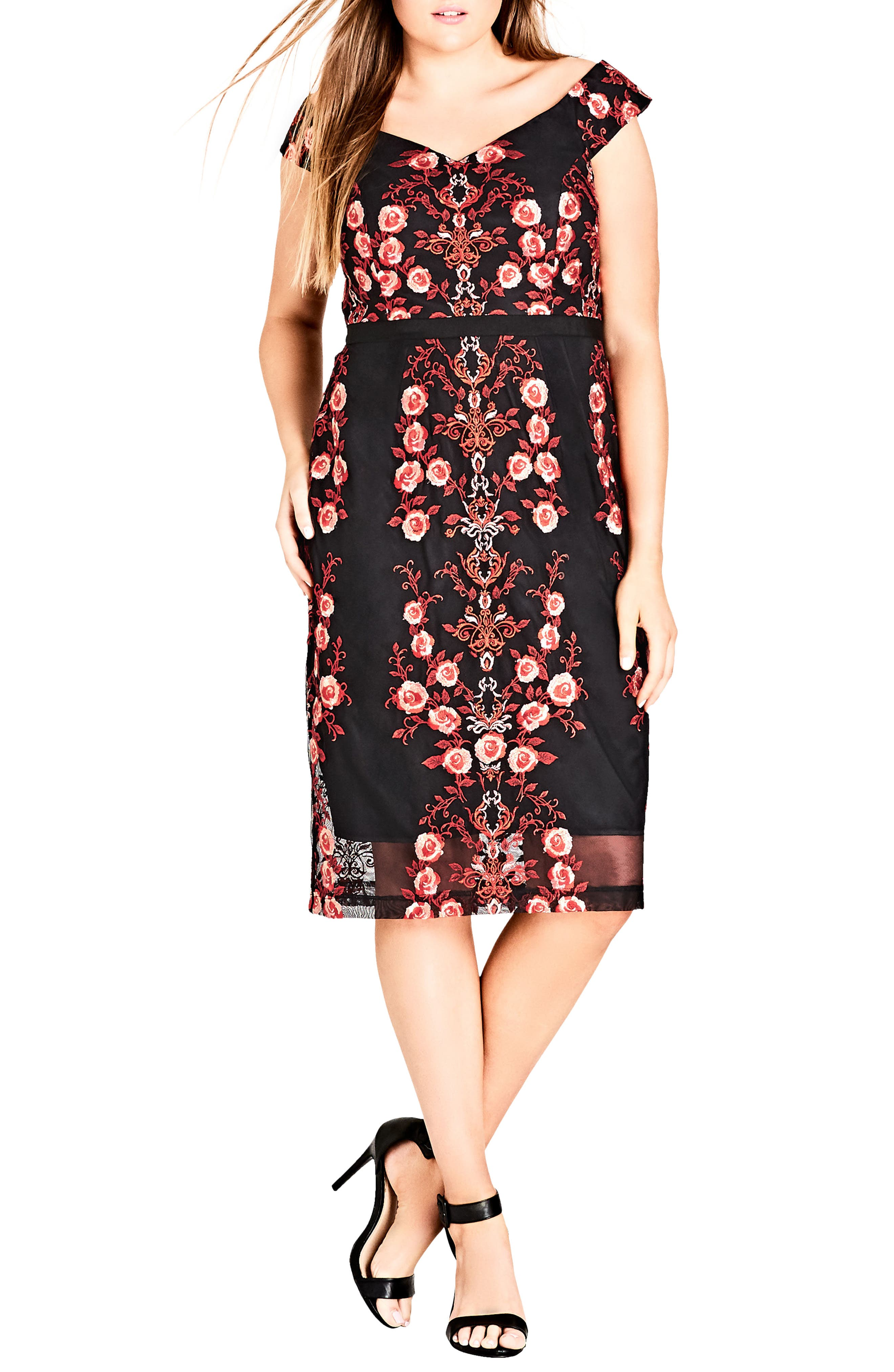 Sweet Lolita Dress,                             Main thumbnail 1, color,                             Lolita