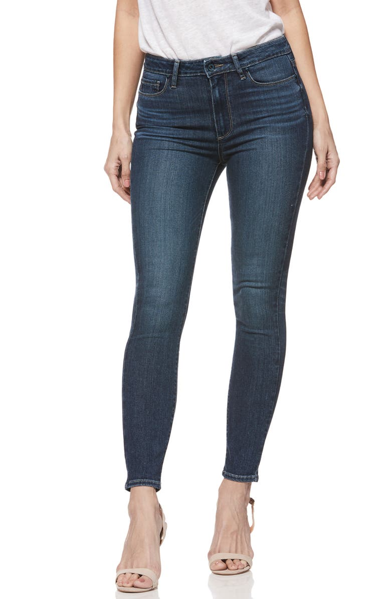 Hoxton Transcend High Waist Ankle Skinny Jeans