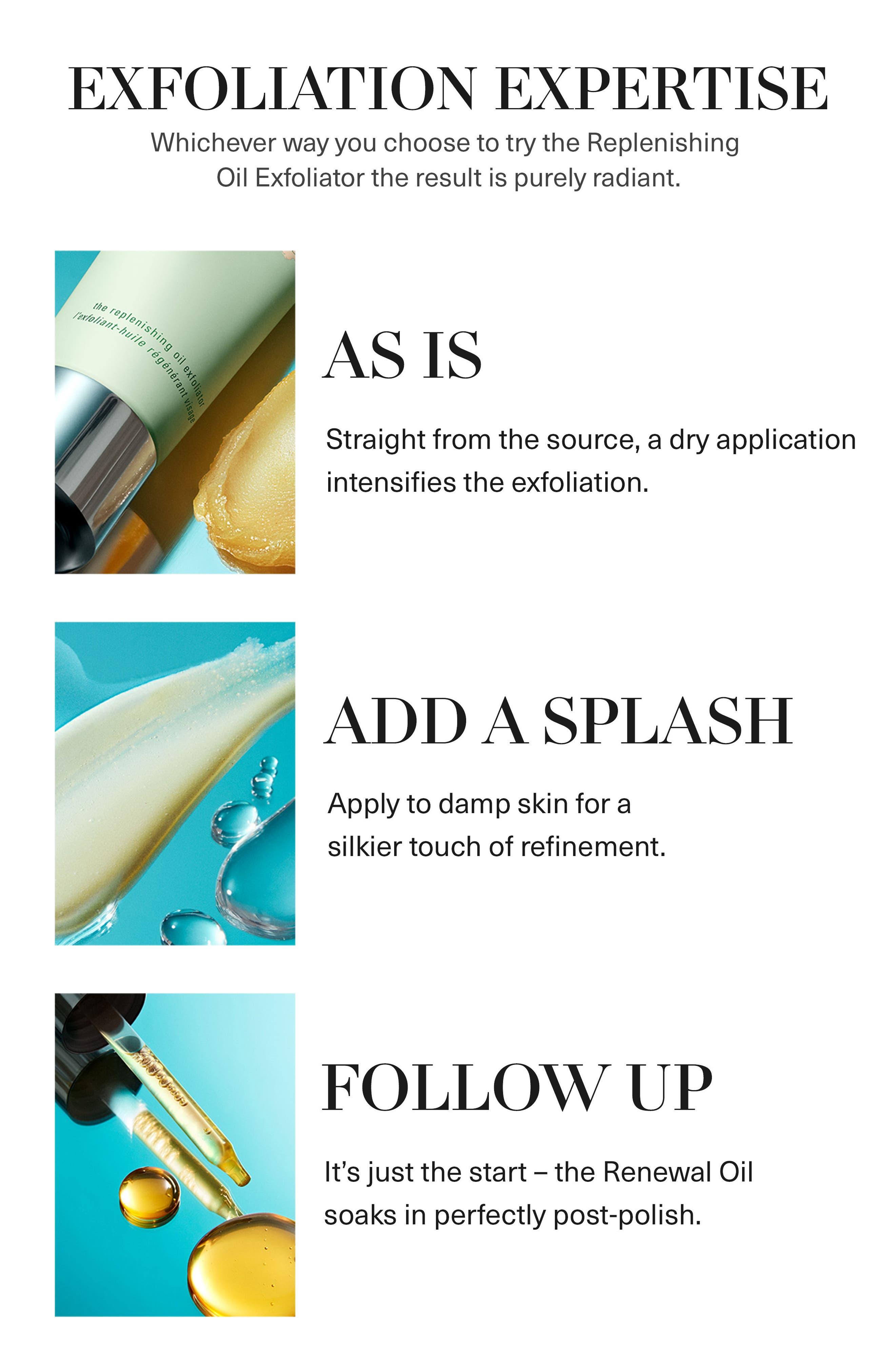 The Replenishing Oil Exfoliator,                             Alternate thumbnail 4, color,                             No Color