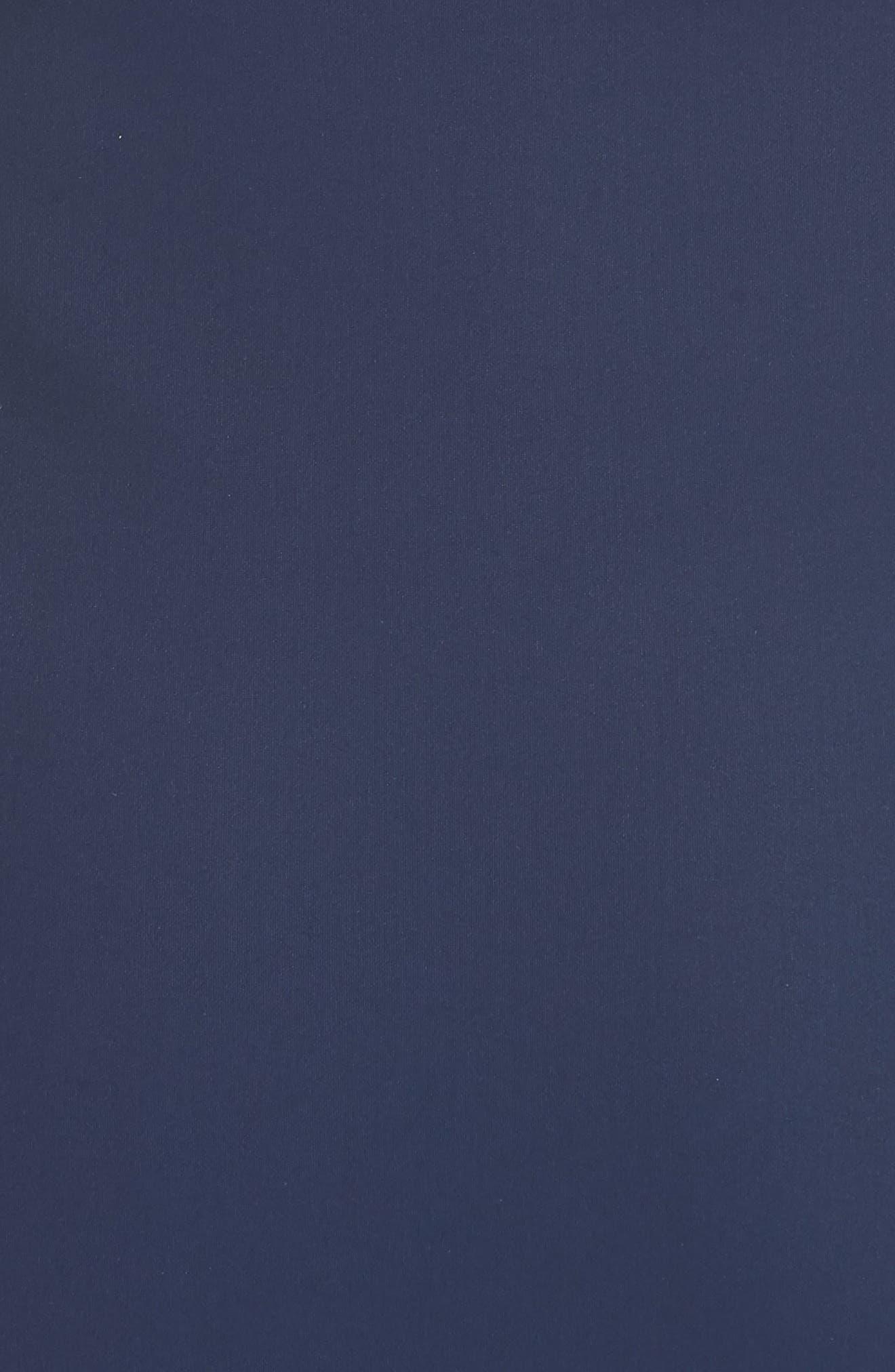 Eunice Jersey Sheath Dress,                             Alternate thumbnail 5, color,                             Blue Notte