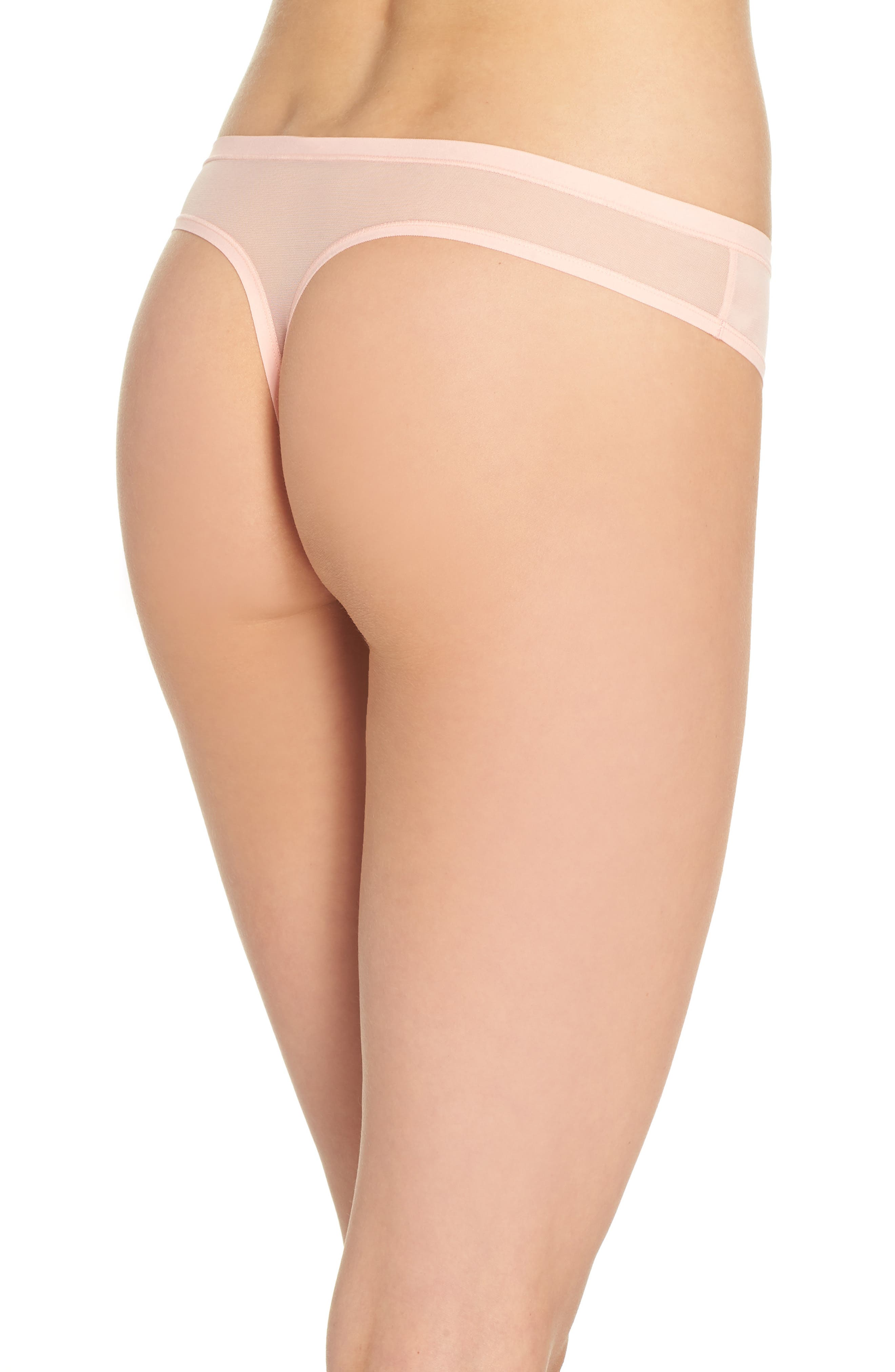 Bliss Light Thong,                             Alternate thumbnail 2, color,                             Creamsicle