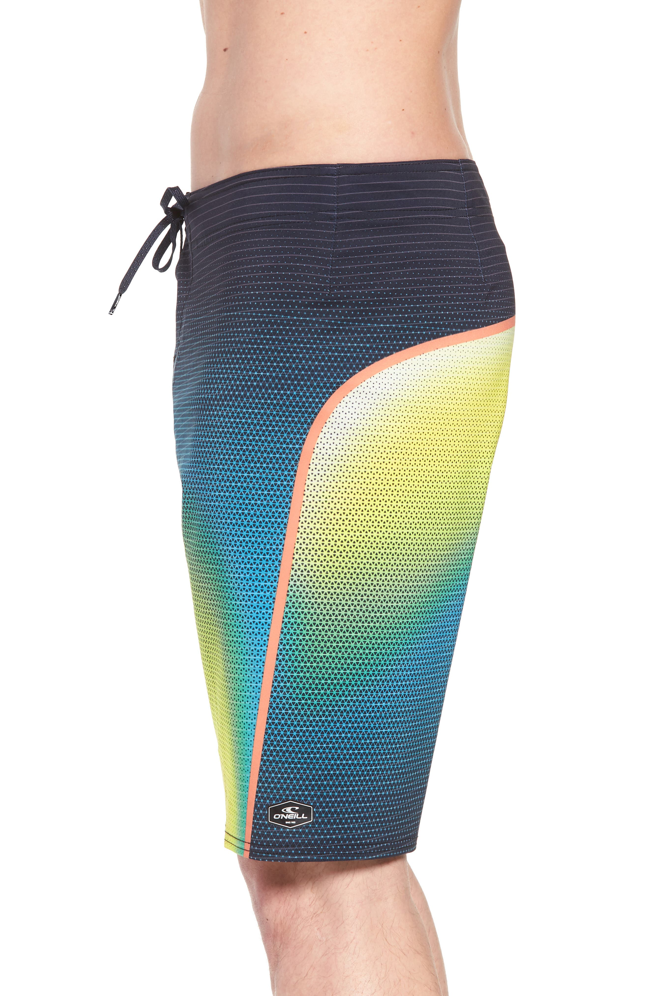 Hyperfreak Prizma Board Shorts,                             Alternate thumbnail 4, color,                             Ocean