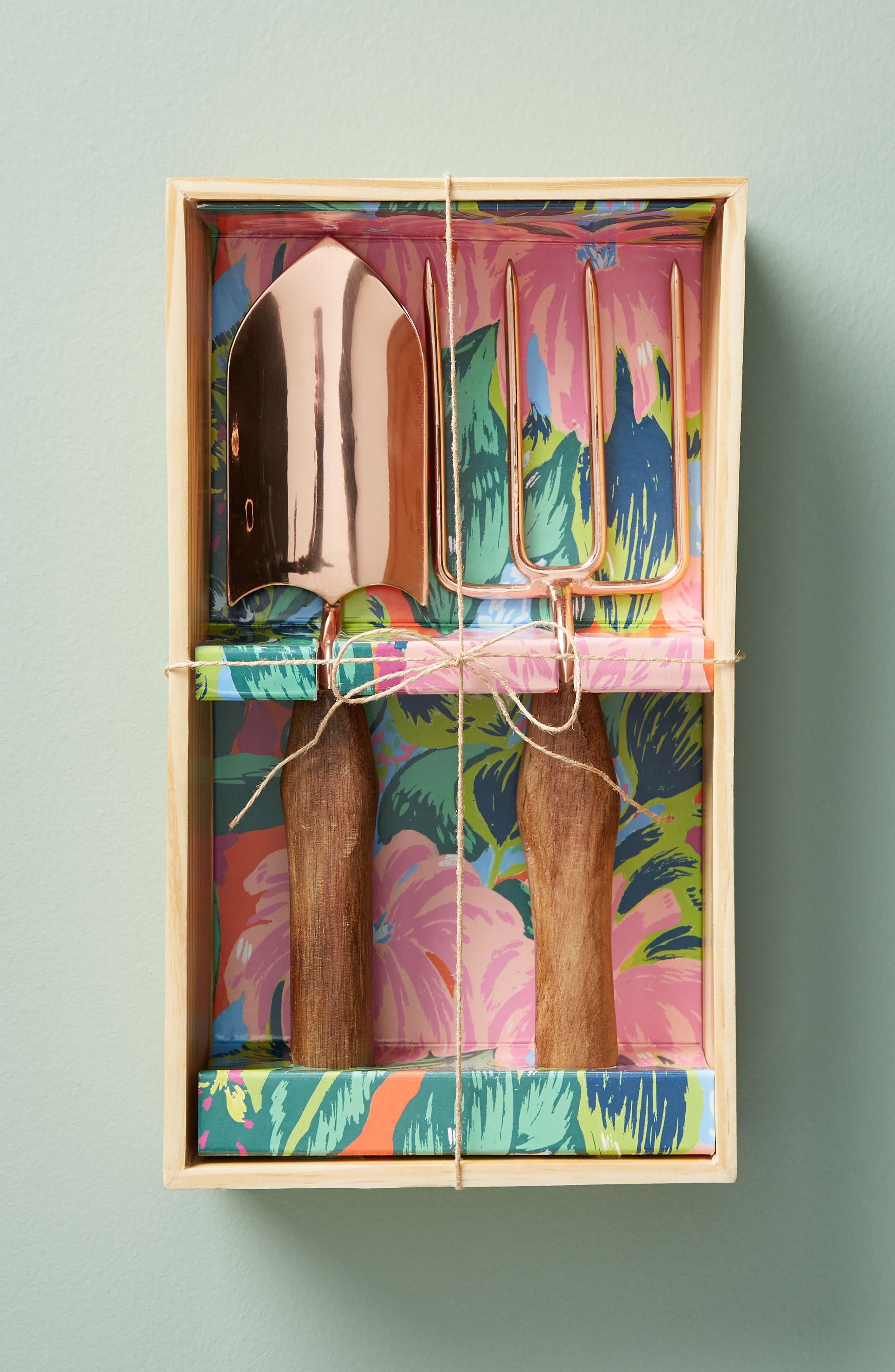 Celine 2-Piece Garden Tool Set,                             Alternate thumbnail 2, color,                             Green Multi