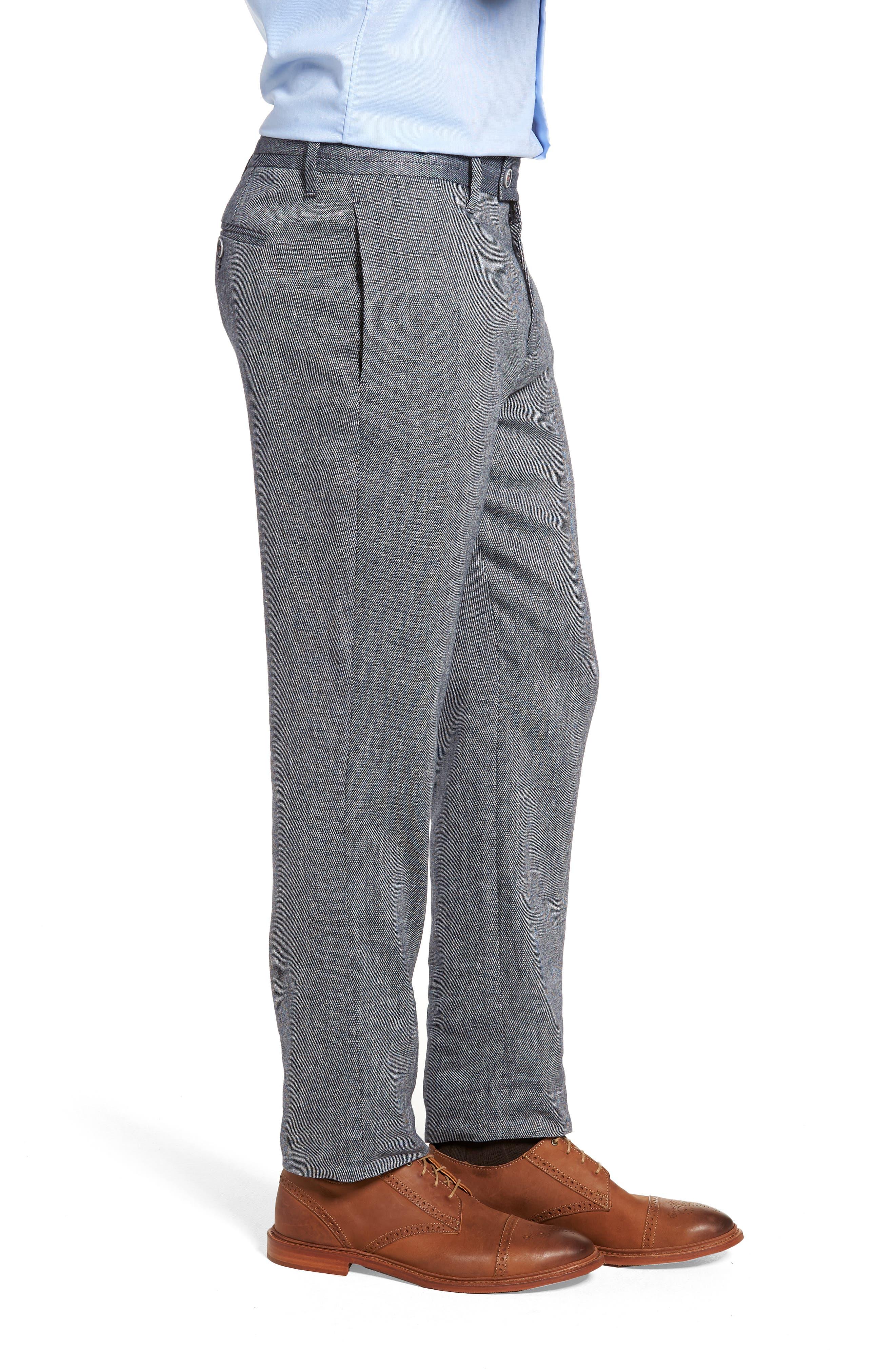 Clifrot Trim Fit Trousers,                             Alternate thumbnail 3, color,                             Blue