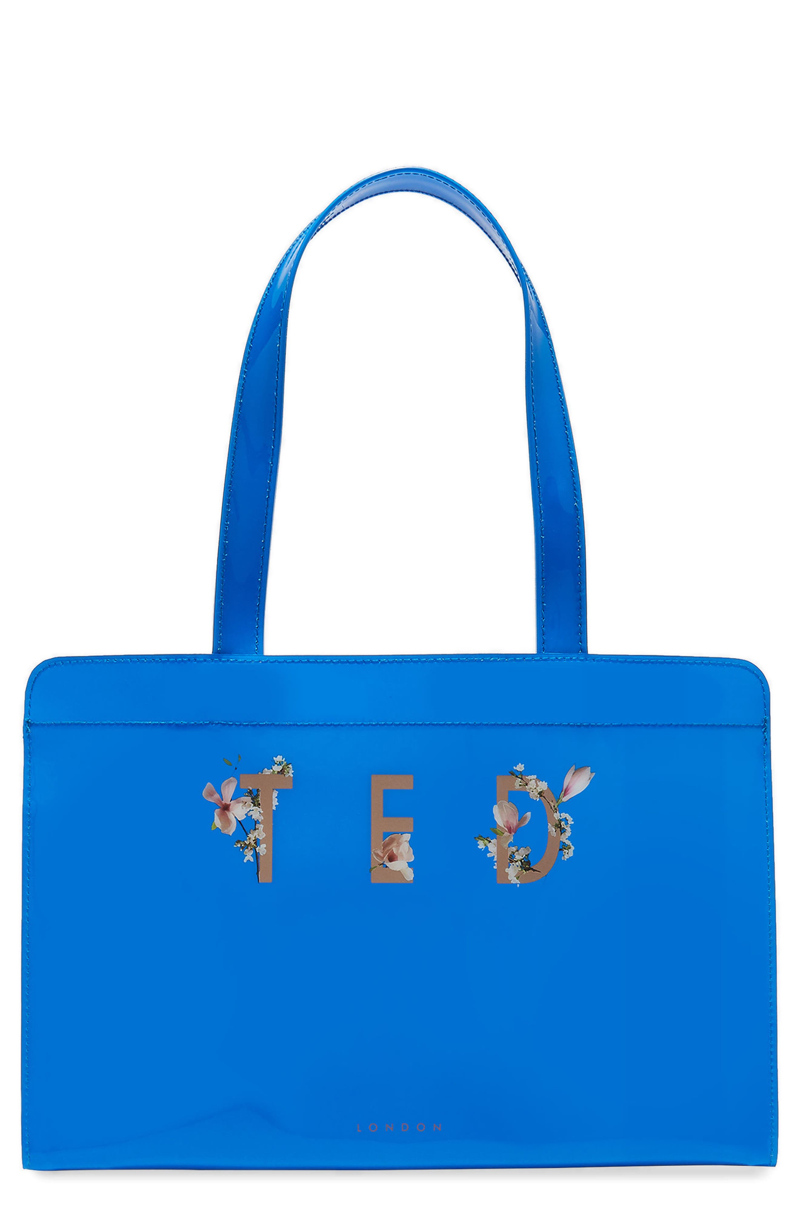 Fizz Tote,                             Main thumbnail 1, color,                             Bright Blue