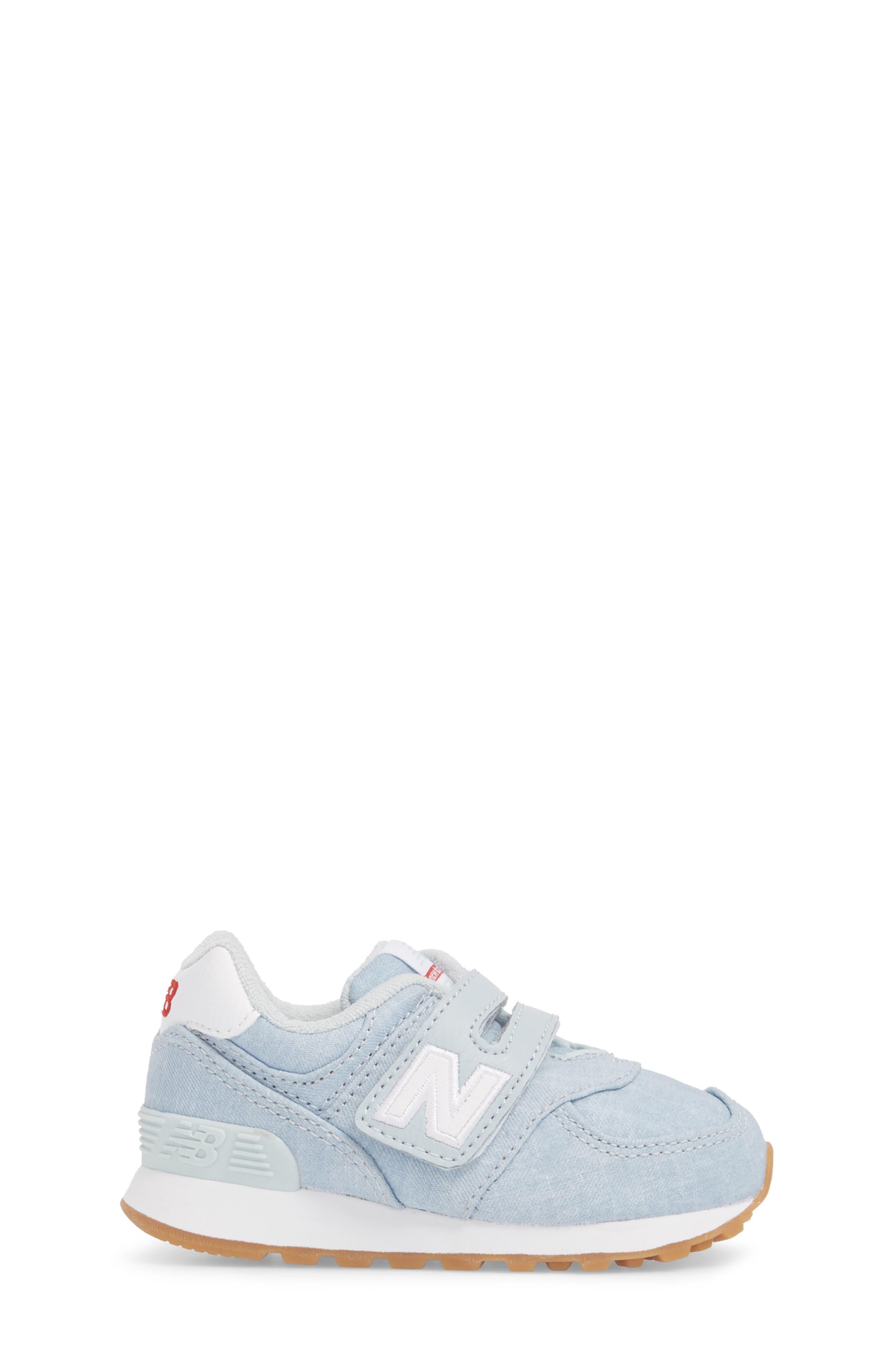 574v1 Sneaker,                             Alternate thumbnail 3, color,                             Light Porcelain Blue