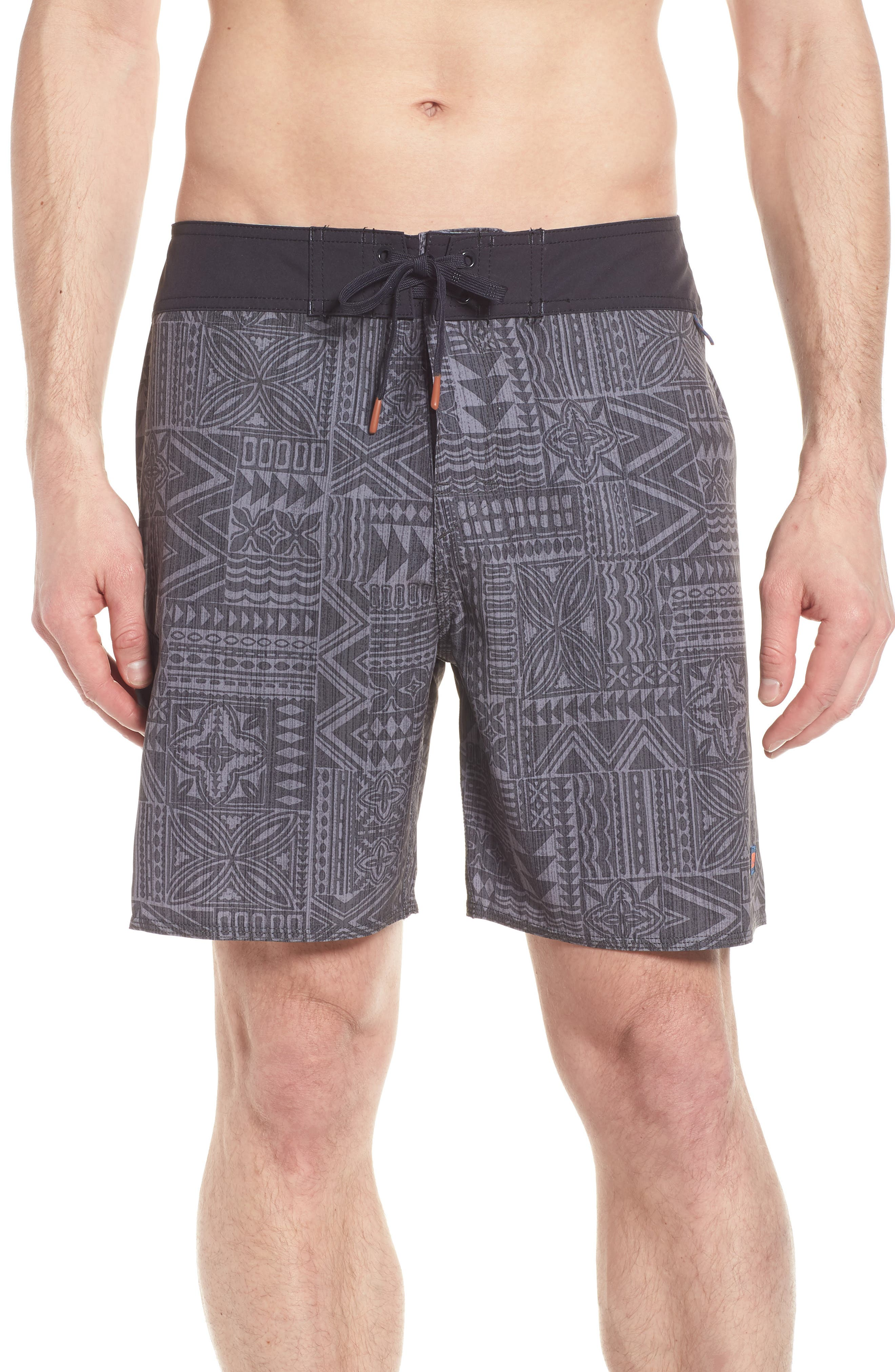 Diamond Head Board Shorts,                             Main thumbnail 1, color,                             Charcoal