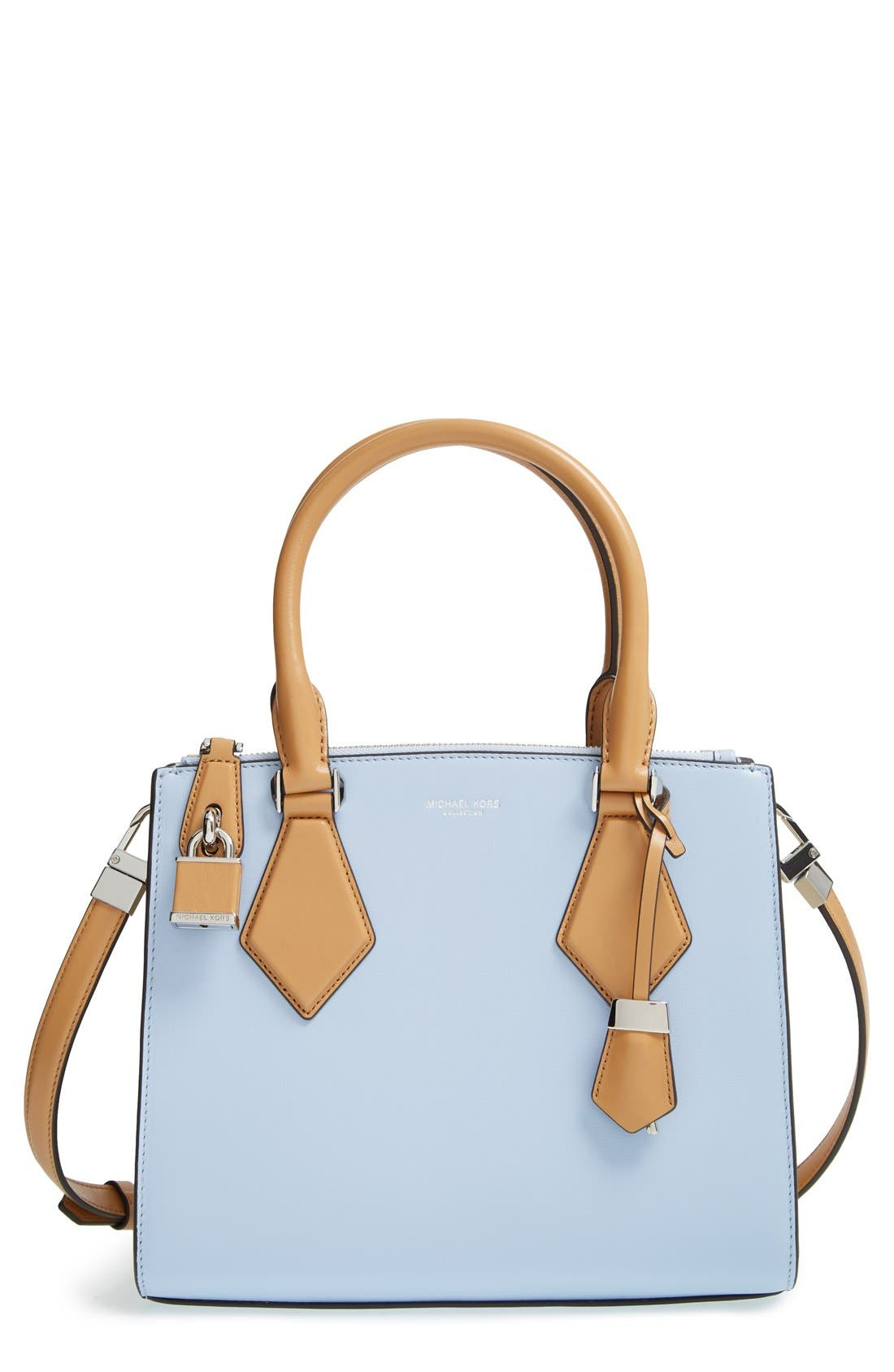 Main Image - Michael Kors 'Small Casey' Leather Satchel