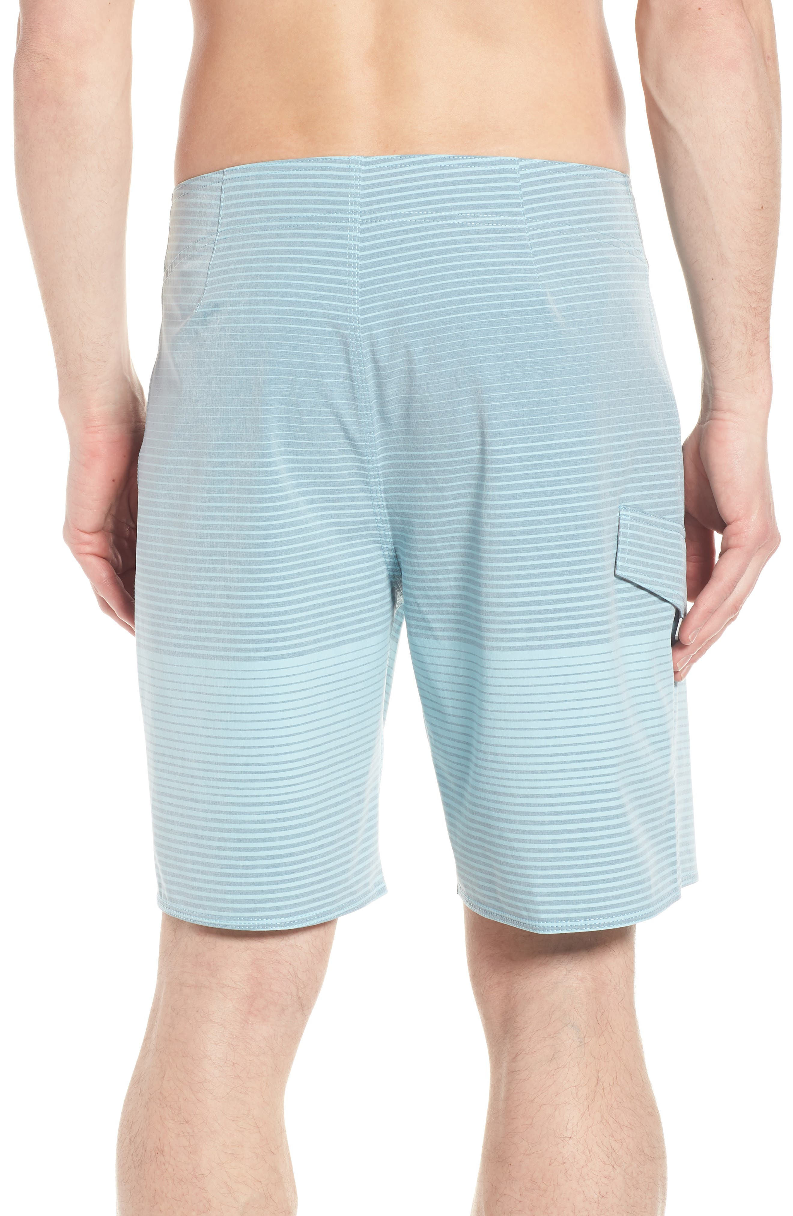 Water Level Board Shorts,                             Alternate thumbnail 2, color,                             Harbour Blue