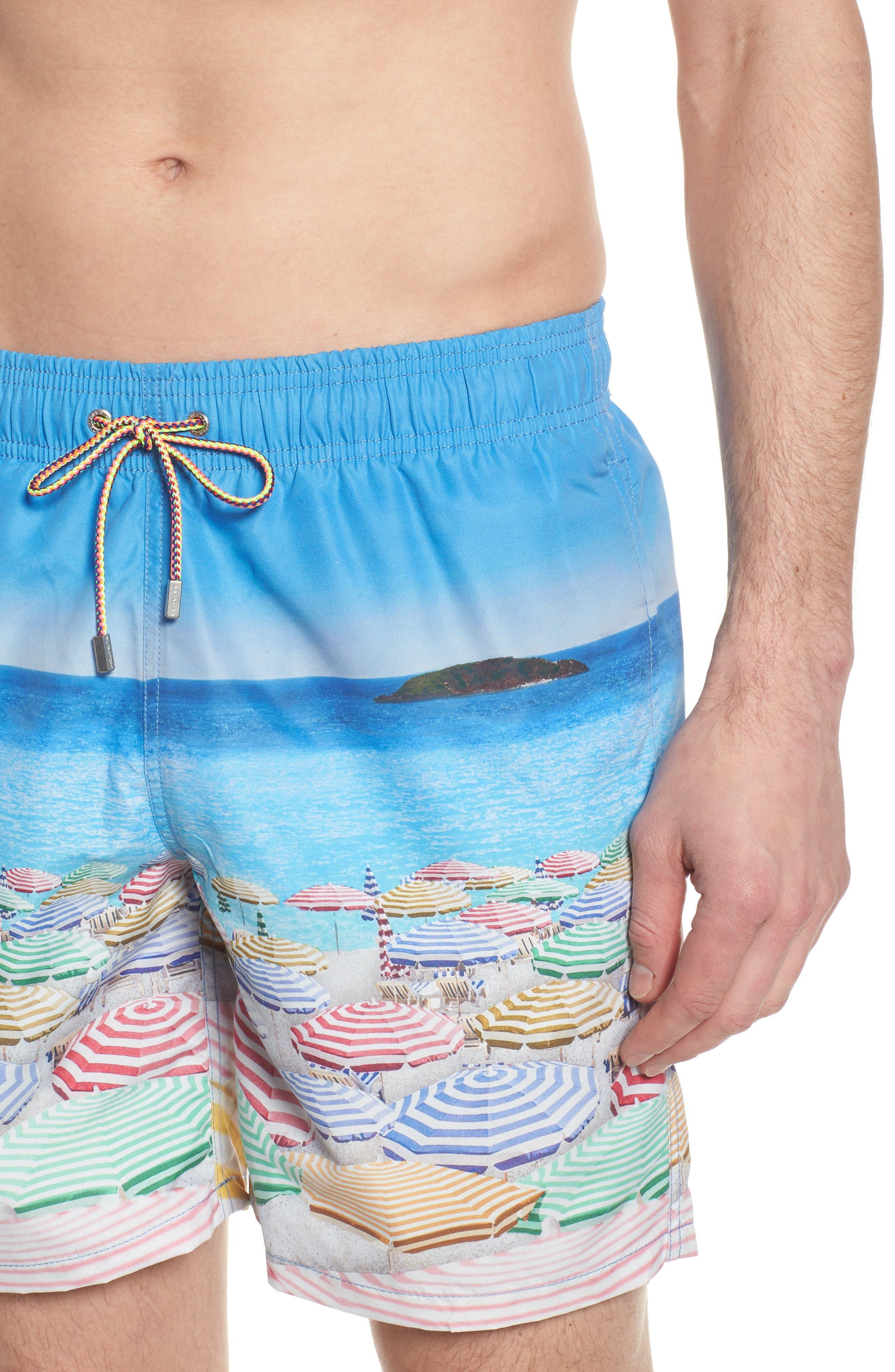 Swim Trunks,                             Alternate thumbnail 4, color,                             Ocean