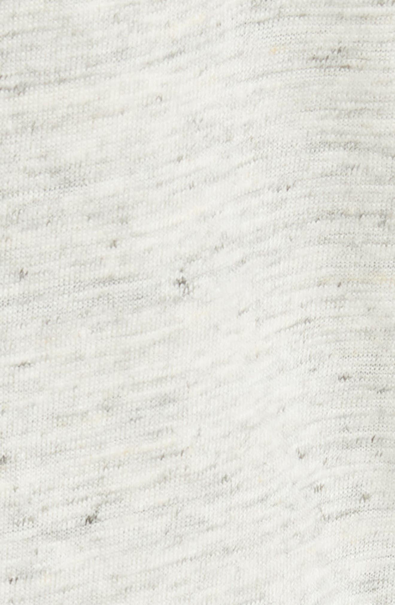 Stretch Linen Blazer,                             Alternate thumbnail 5, color,                             Carrare