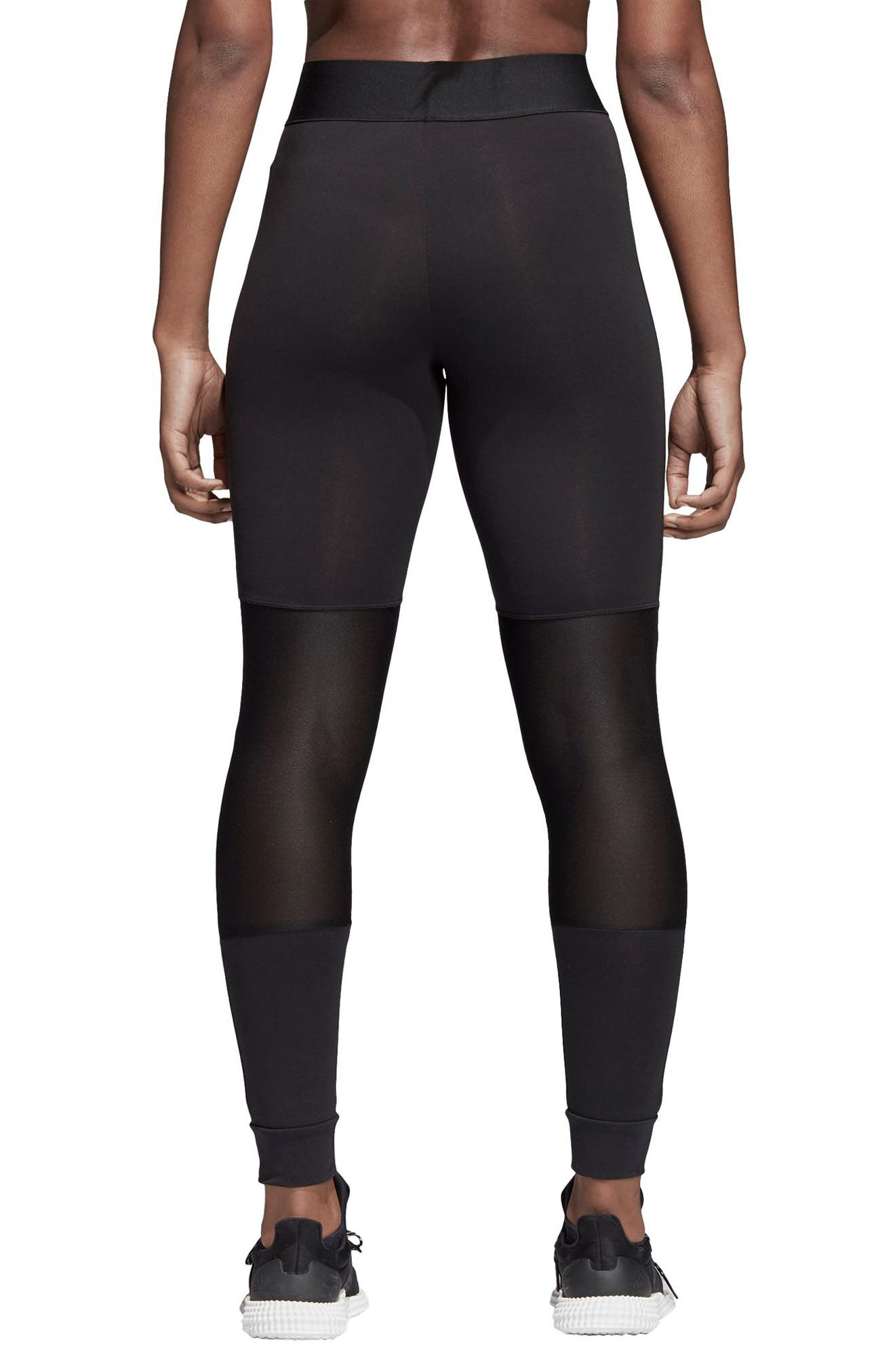 7/8 Leggings,                             Alternate thumbnail 2, color,                             Black