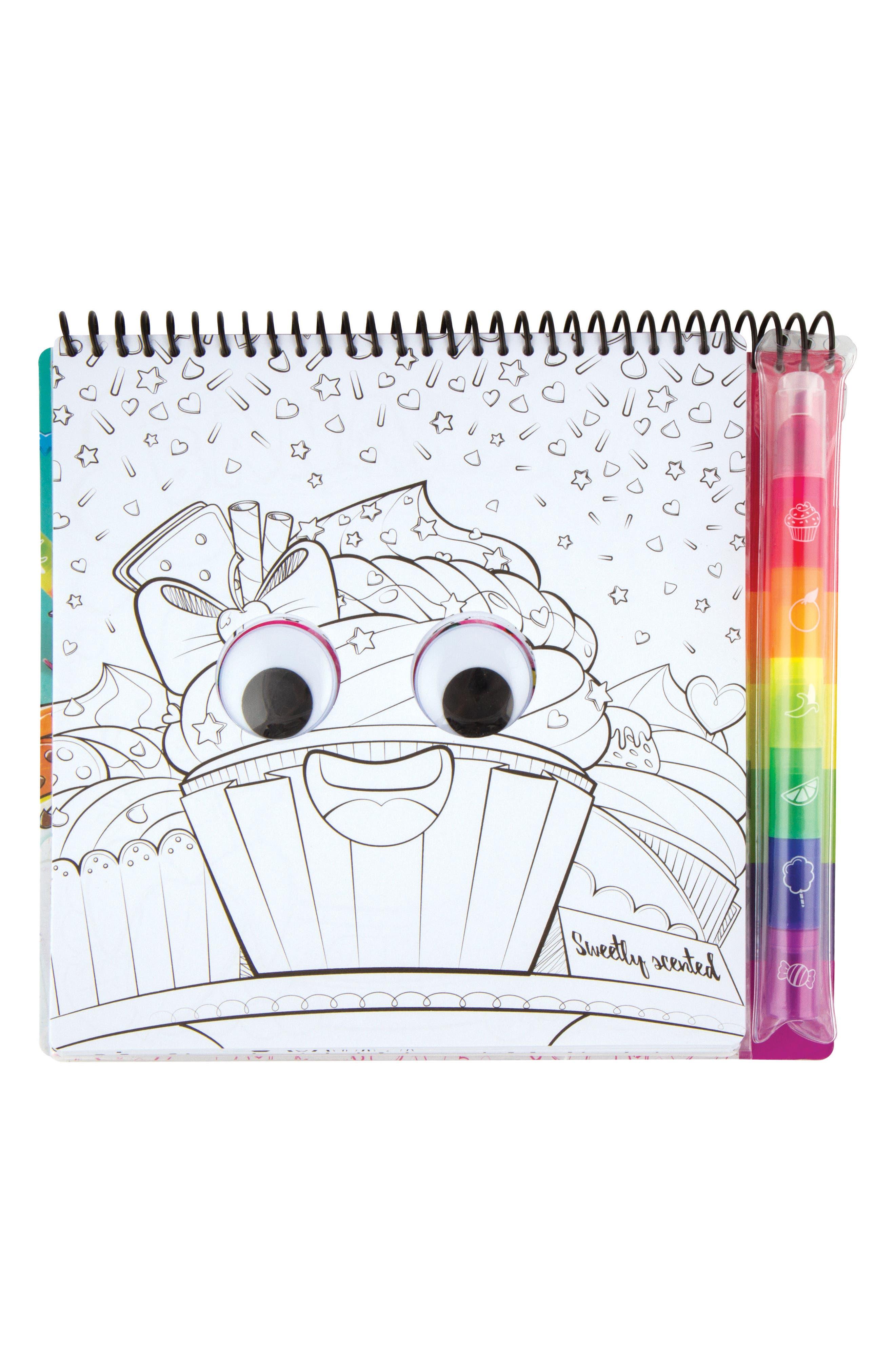I Smell Sketch Portfolio,                             Alternate thumbnail 4, color,                             Multi