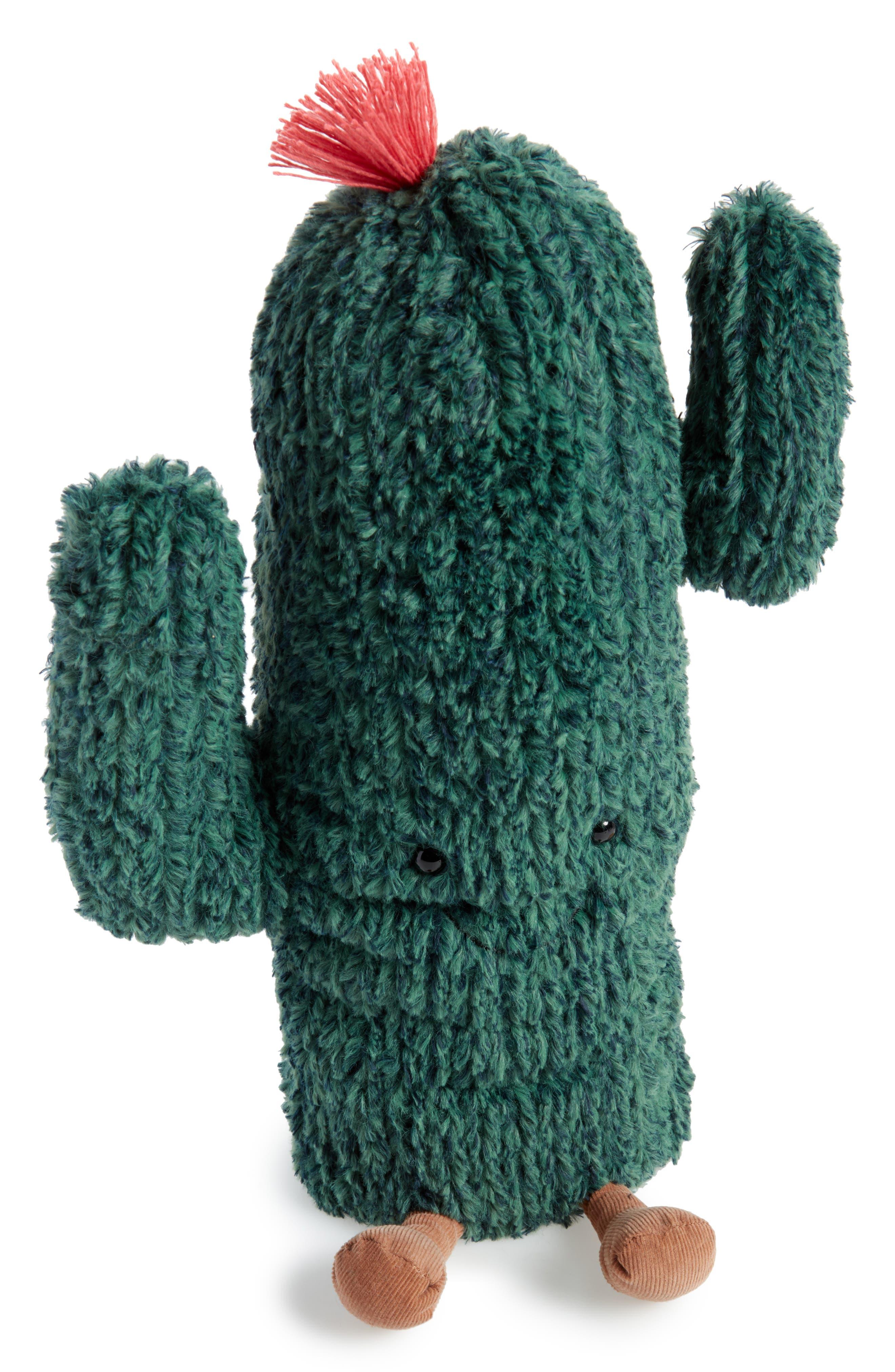 Amuseable Cactus Stuffed Toy,                             Main thumbnail 1, color,                             Cactus