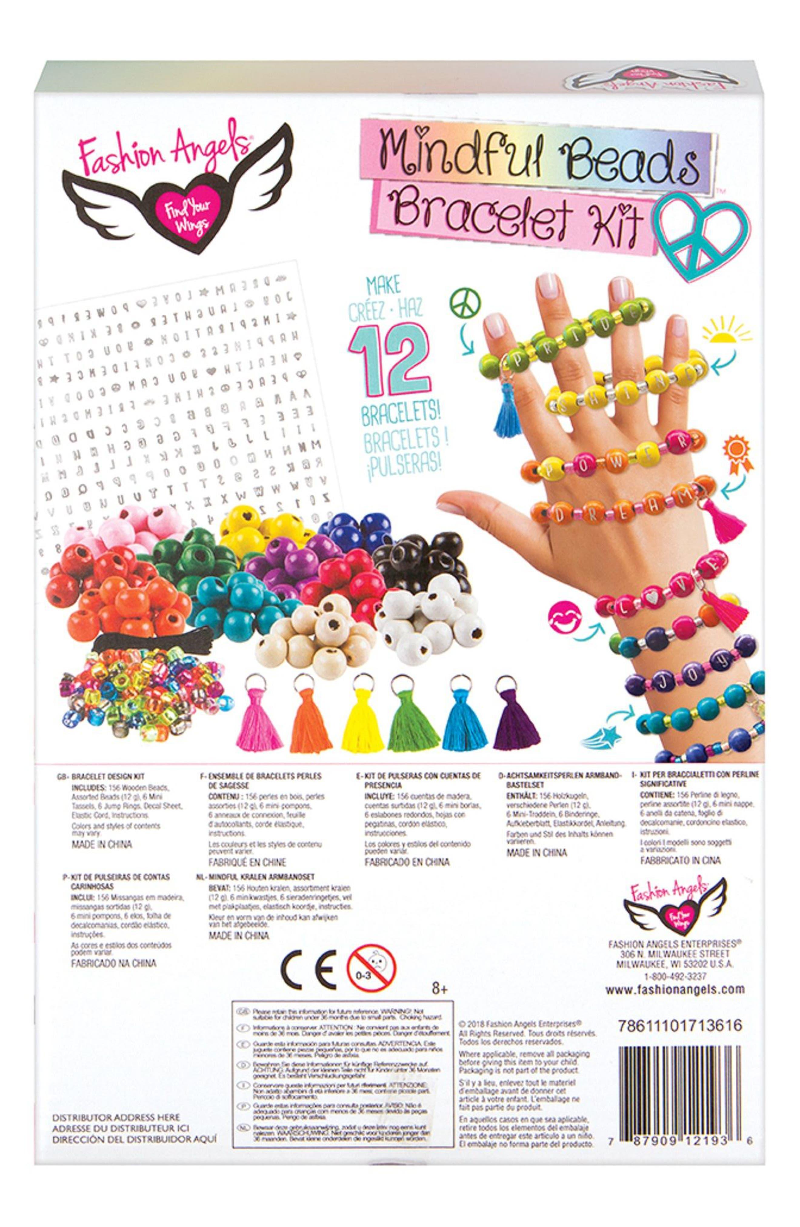 Mindful Bead Bracelet Kit,                             Alternate thumbnail 2, color,                             Multi