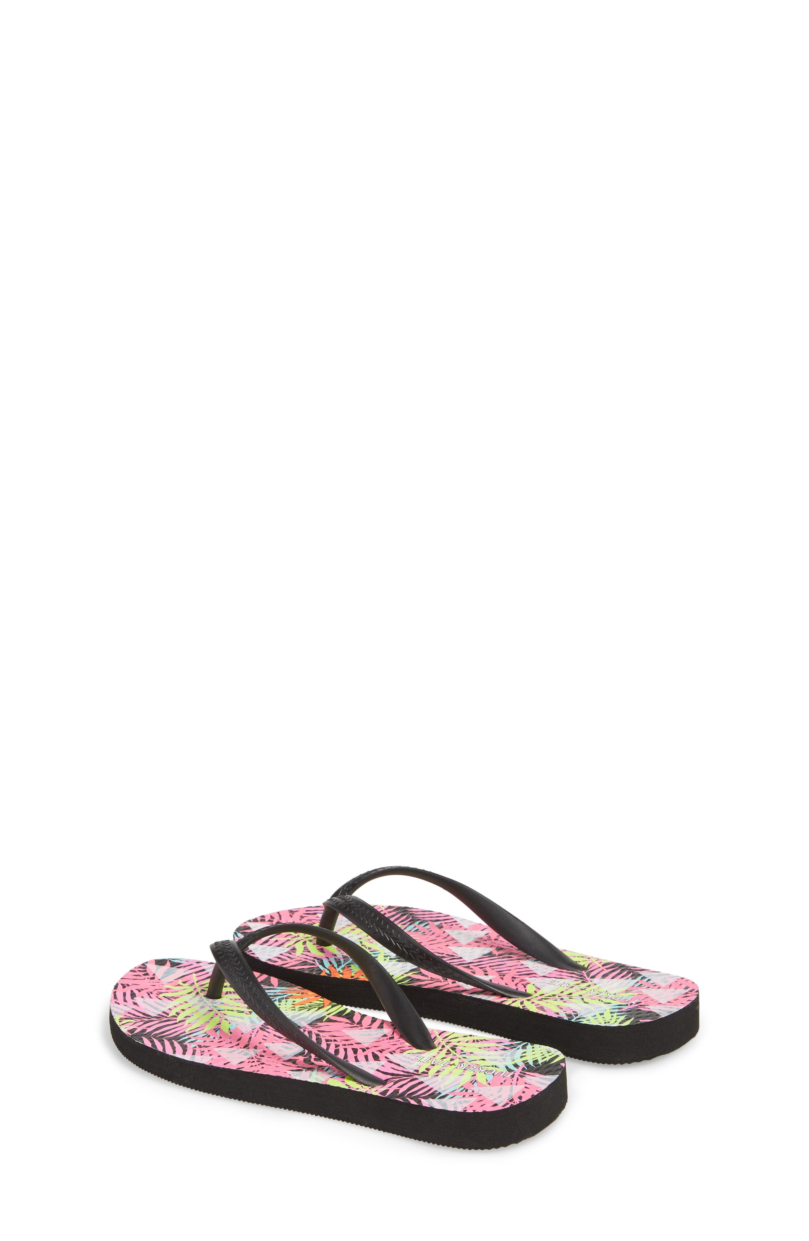 'Clementyne' Flip Flop,                             Alternate thumbnail 2, color,                             Black