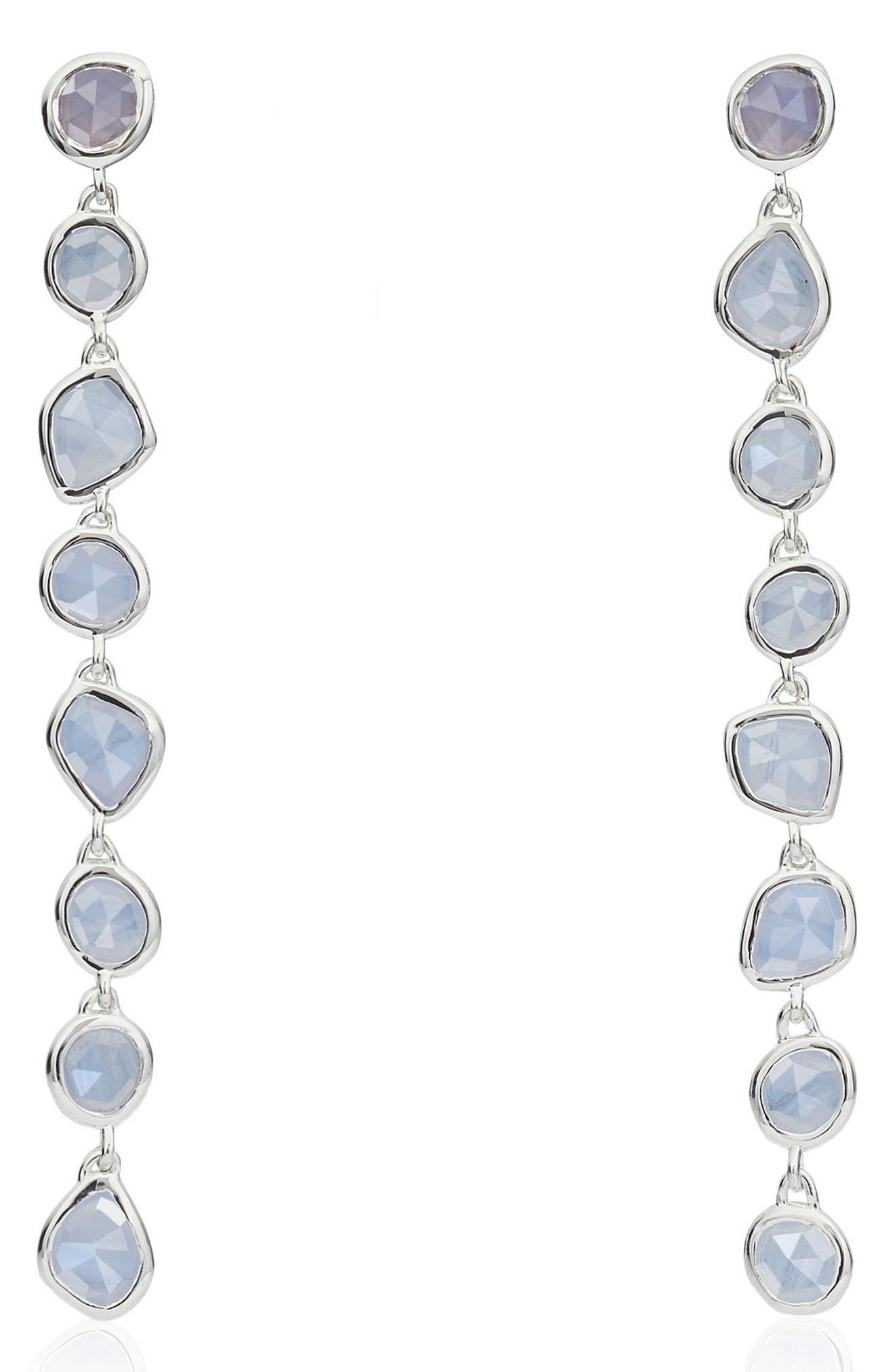 Alternate Image 1 Selected - Monica Vinader Siren Mini Nugget Earrings
