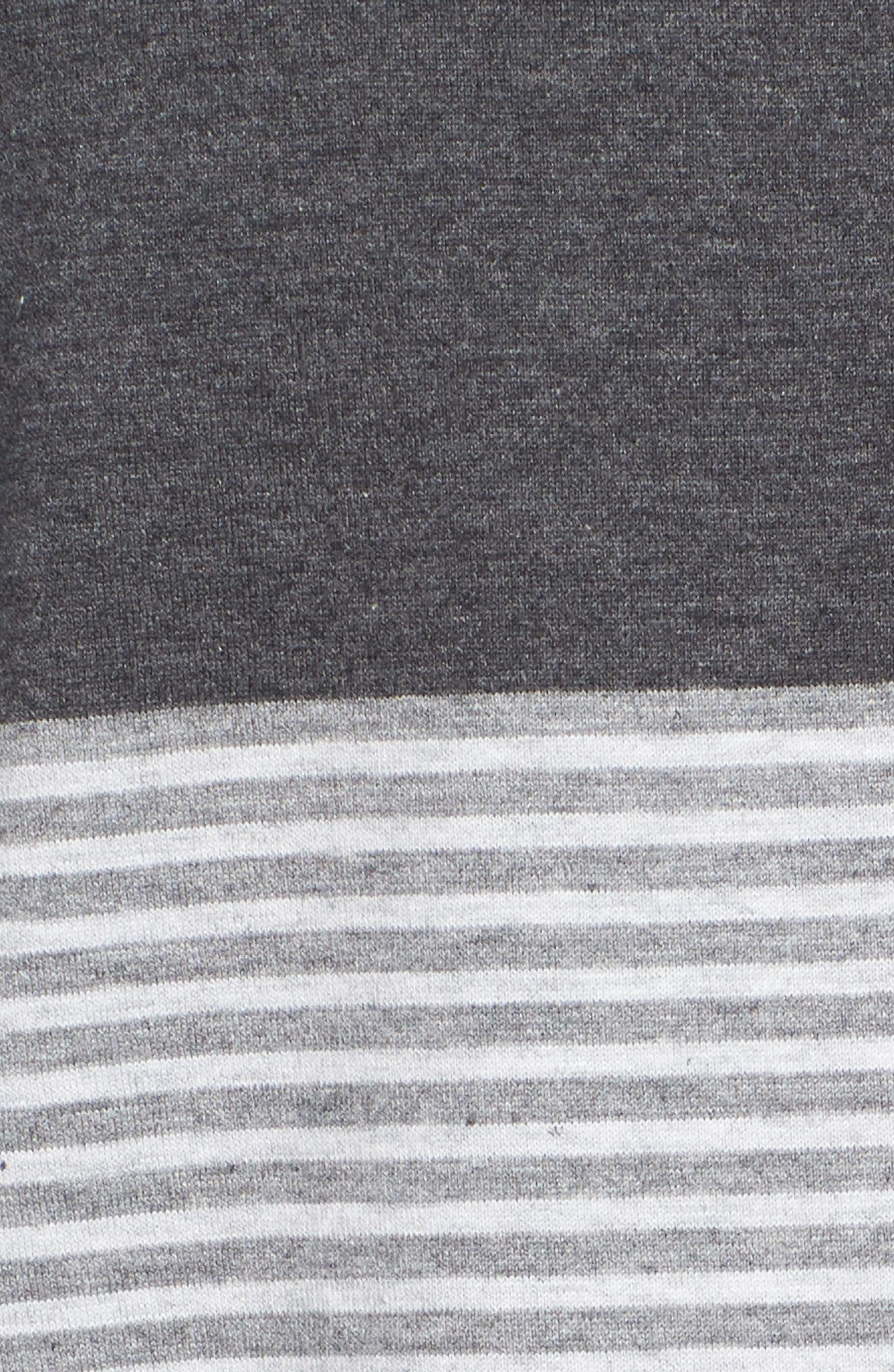 Baisch Regular Fit Polo,                             Alternate thumbnail 5, color,                             Heather Grey Pinstripe