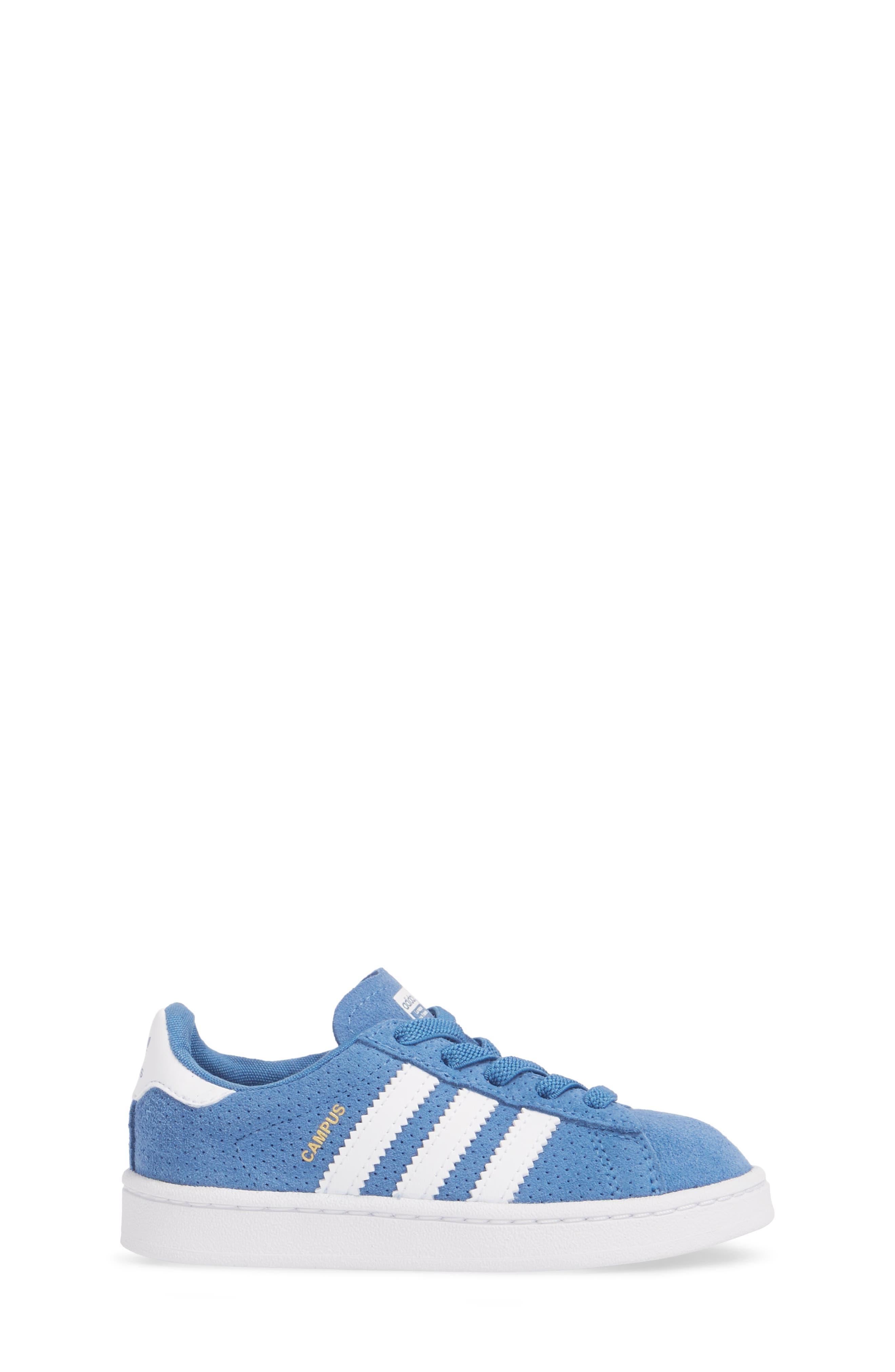 Campus J Sneaker,                             Alternate thumbnail 3, color,                             Trace Royal / White / White