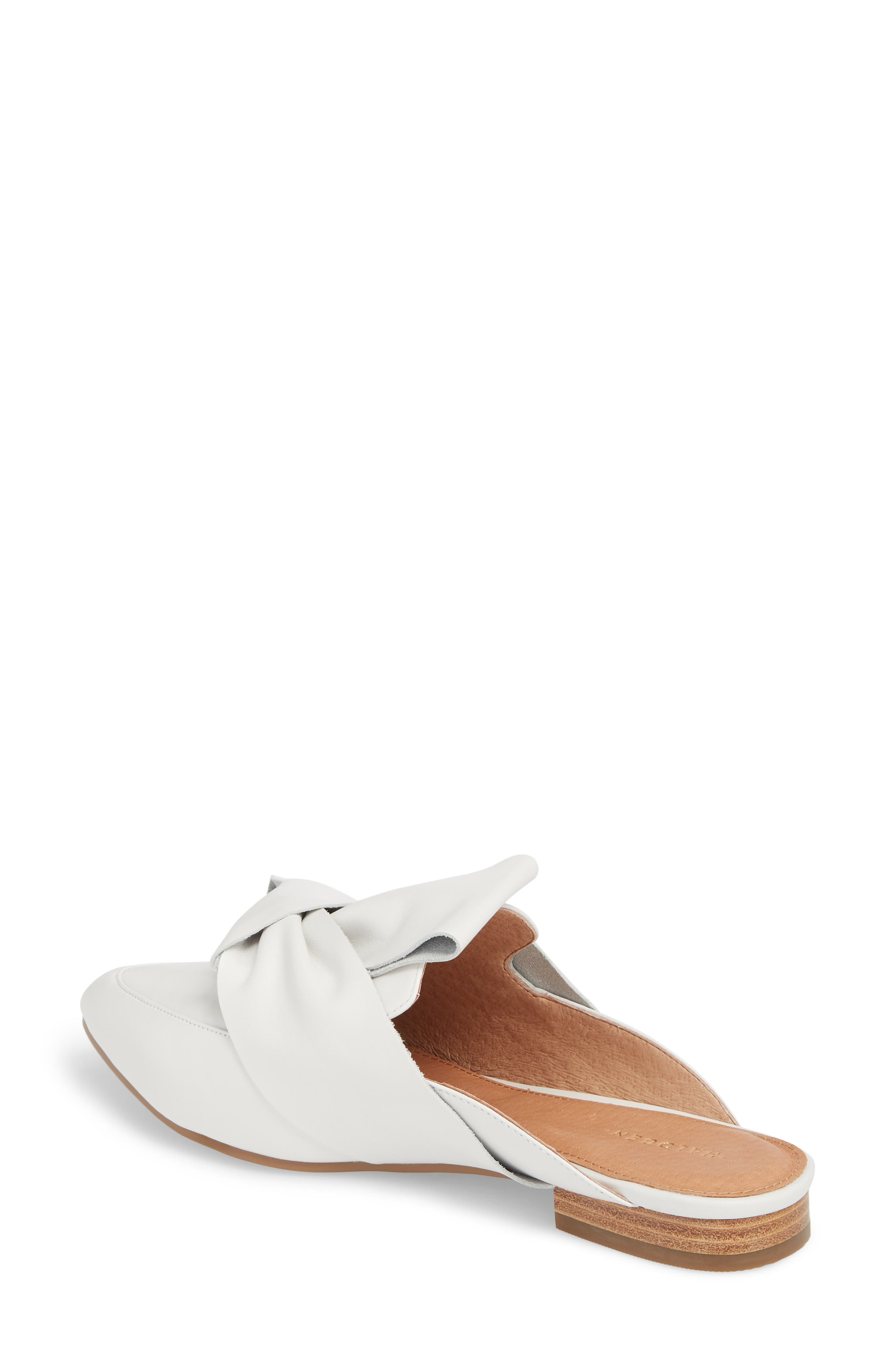 Coral Mule,                             Alternate thumbnail 2, color,                             White Leather