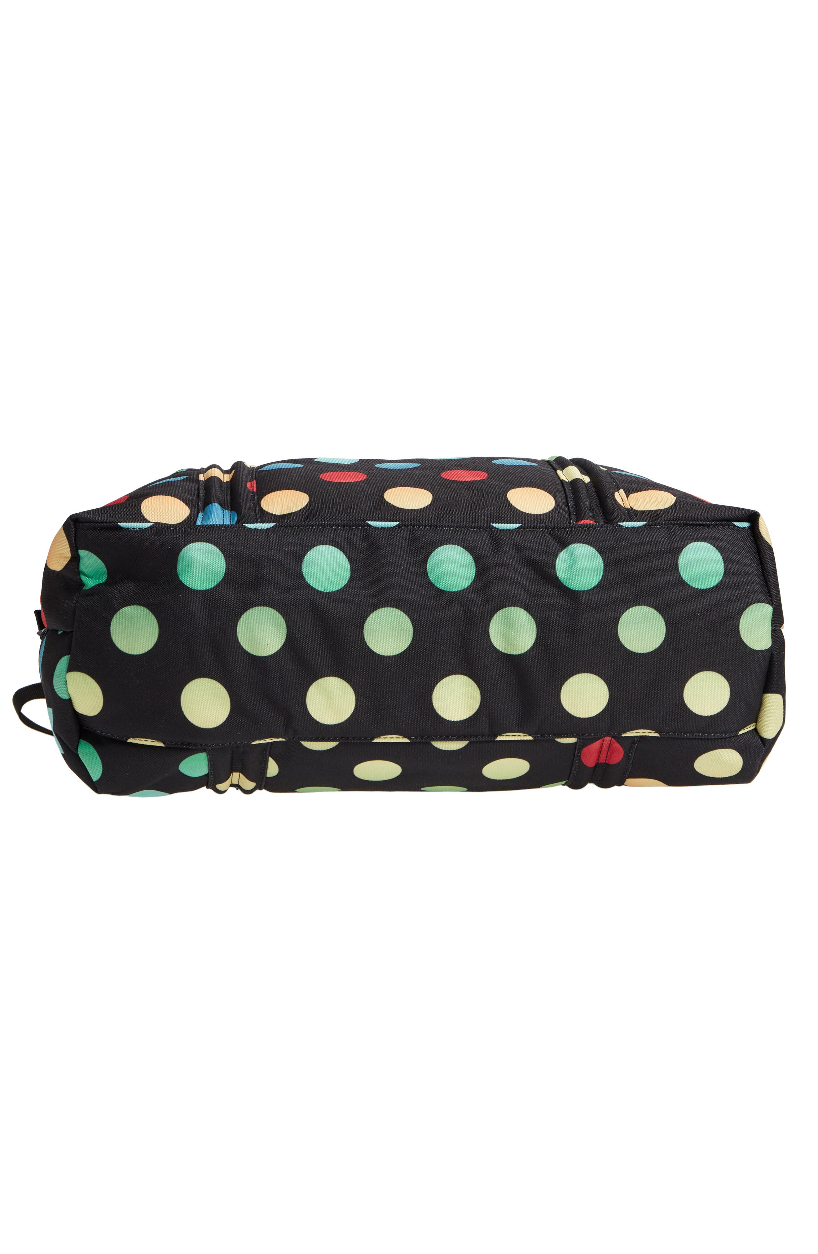 Sprout Diaper Bag,                             Alternate thumbnail 6, color,                             Black Rainbow