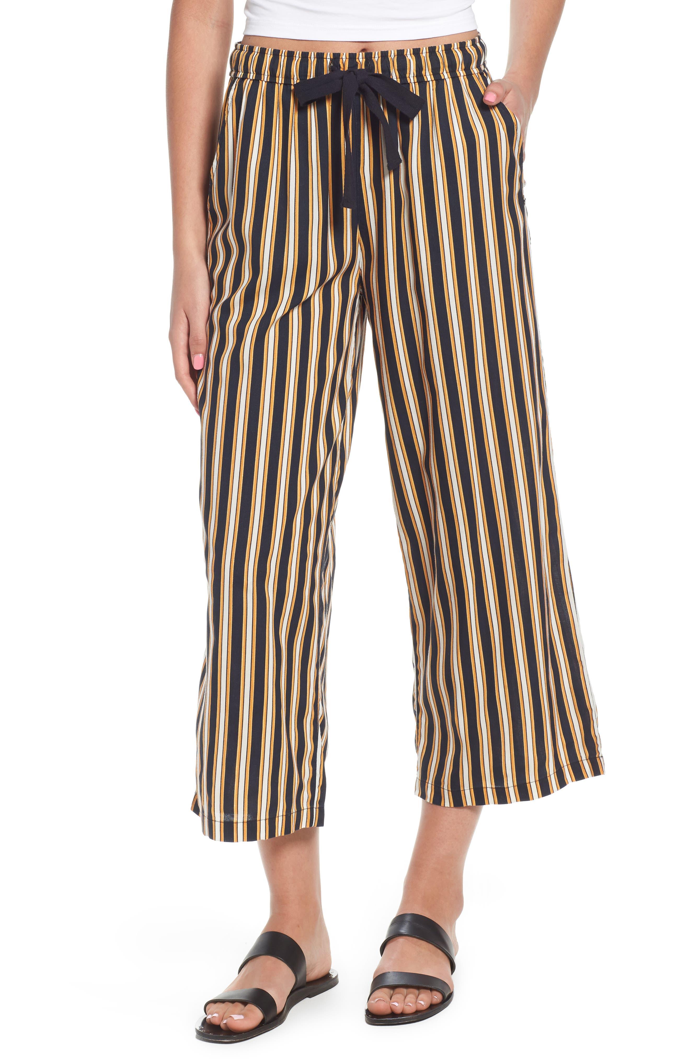 Stoney Stripe Pants,                         Main,                         color, Navy Sea