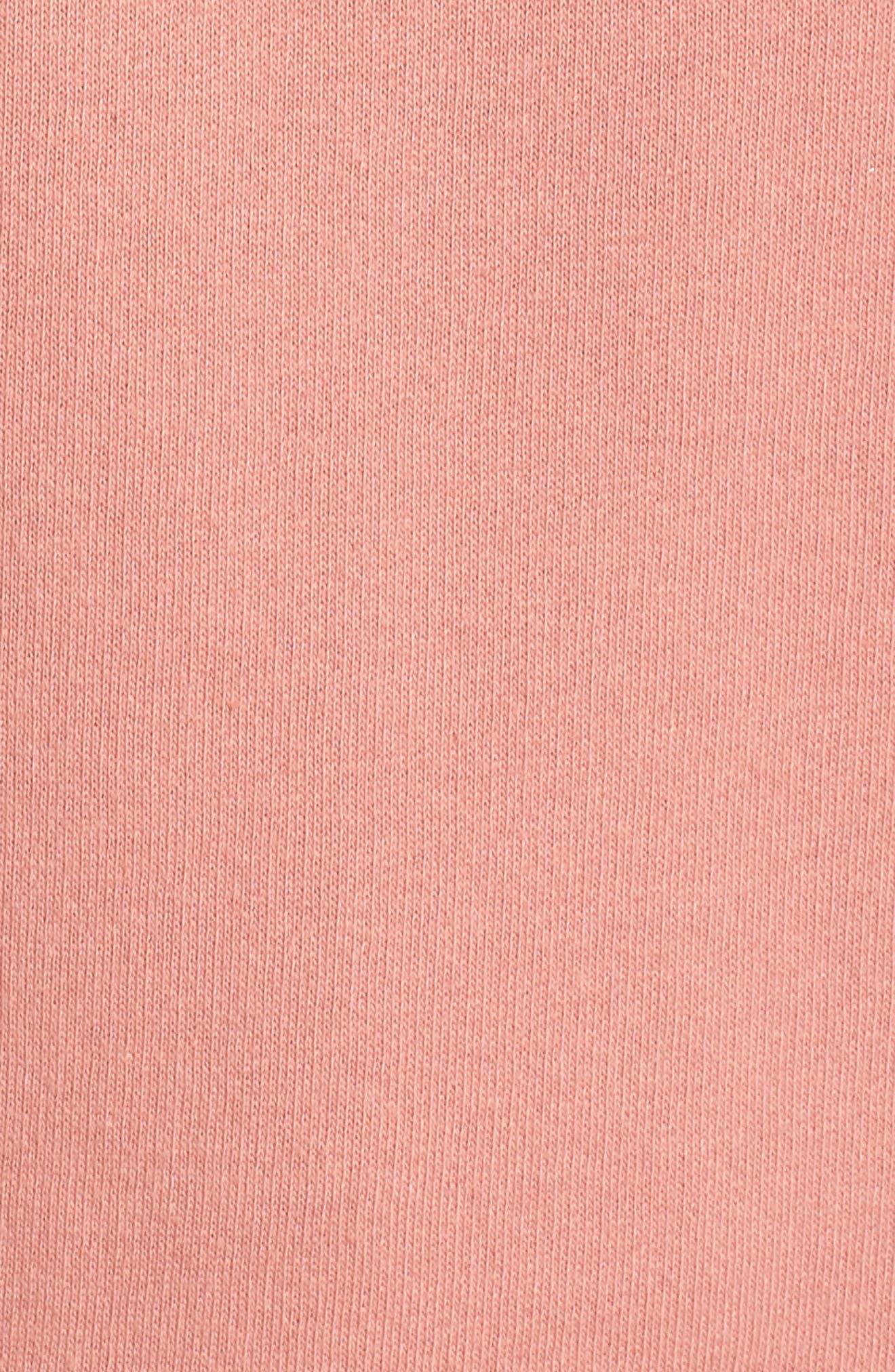 Redhead Crewneck Sweatshirt,                             Alternate thumbnail 6, color,                             Dusty Rose