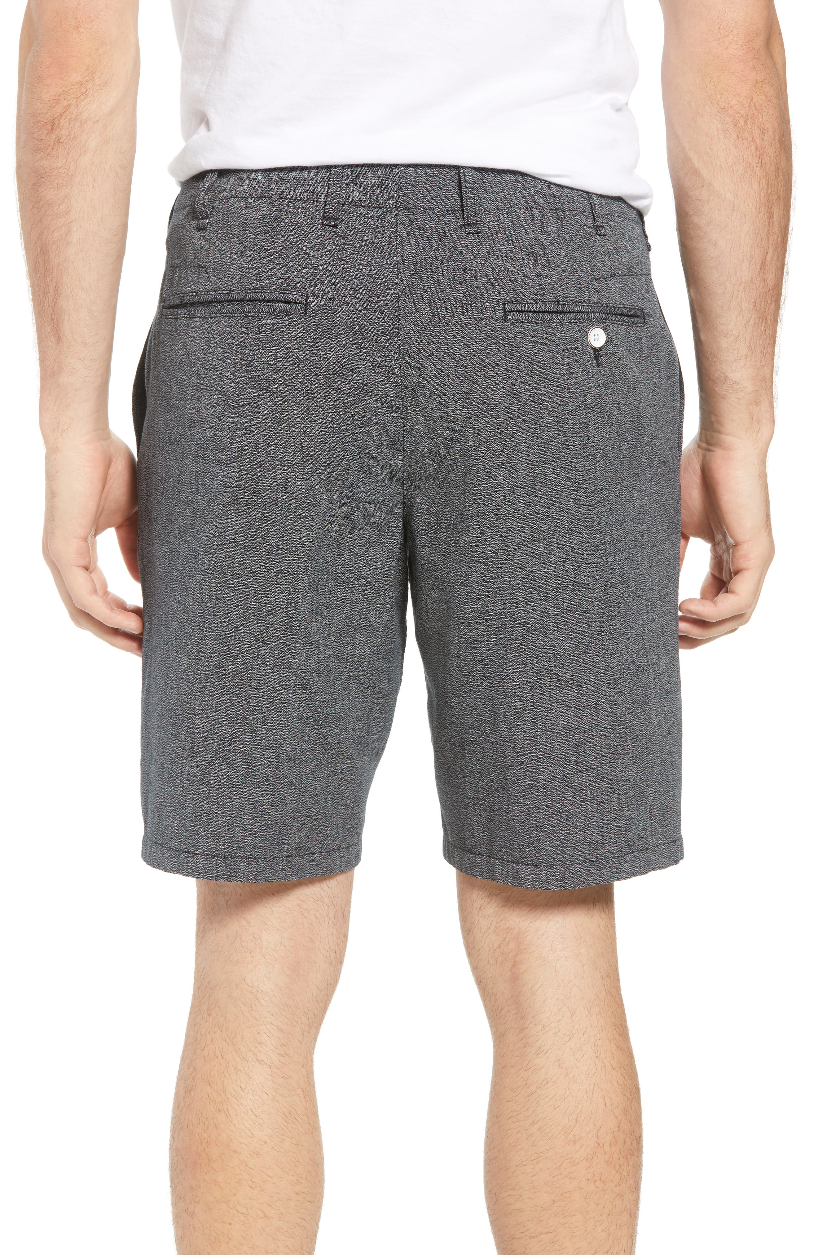 Base Classic Fit Shorts,                             Alternate thumbnail 2, color,                             Grey