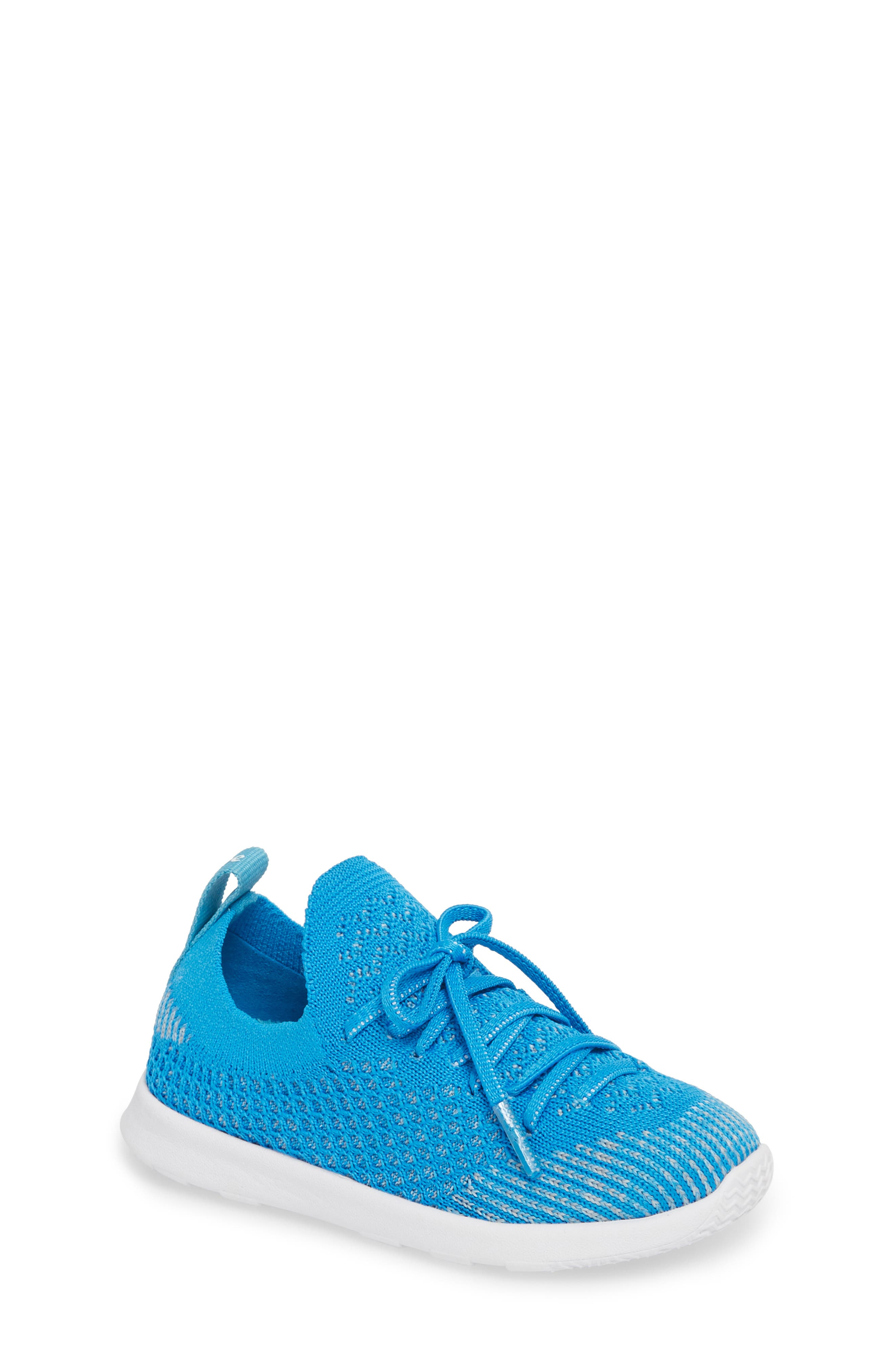 AP Mercury LiteKnit Sneaker,                             Main thumbnail 1, color,                             Wave Blue/ Shell White