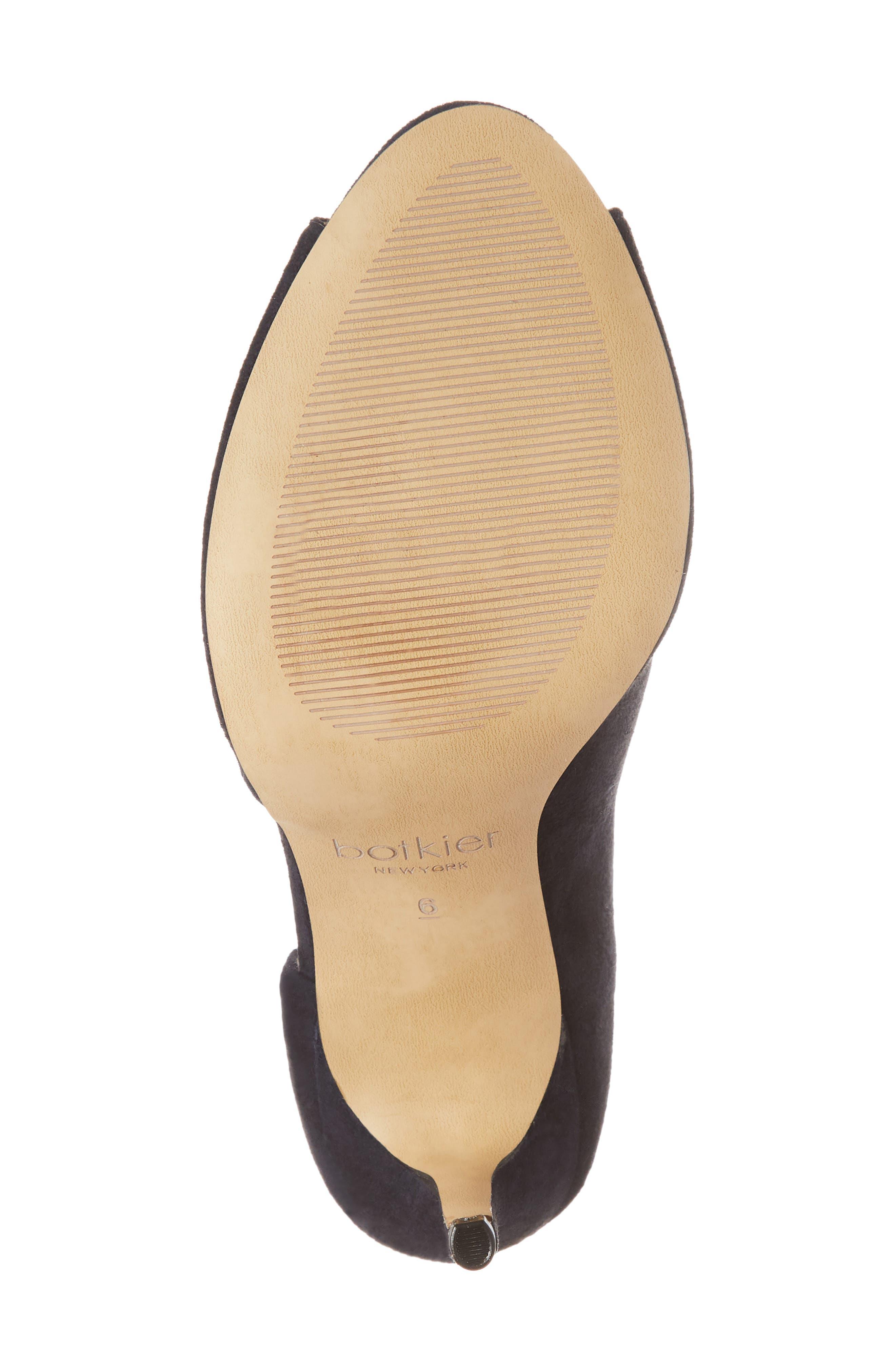 Adelia Asymmetrical Sandal,                             Alternate thumbnail 6, color,                             Navy Suede