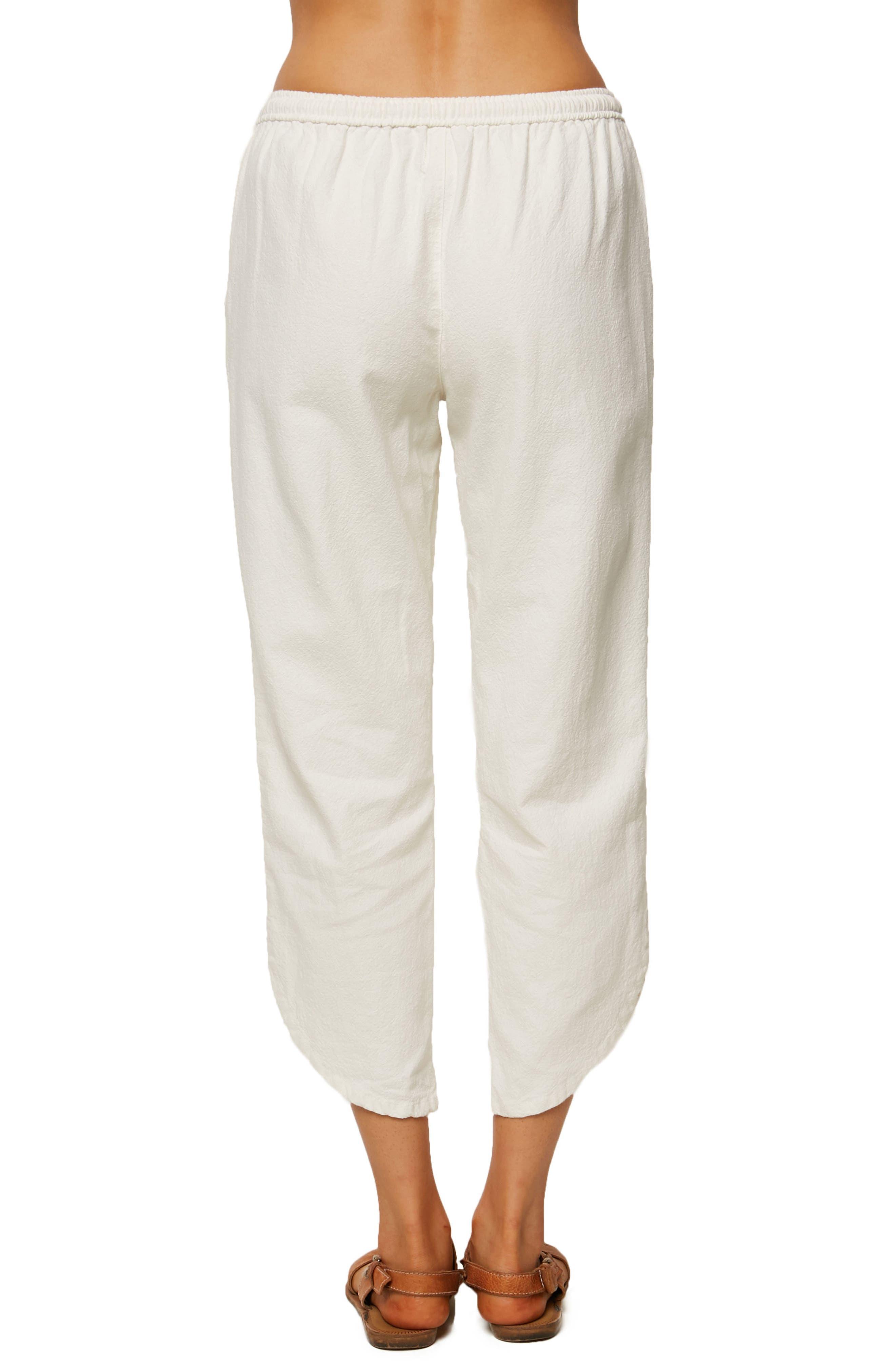Stephie Crop Pants,                             Alternate thumbnail 2, color,                             Naked
