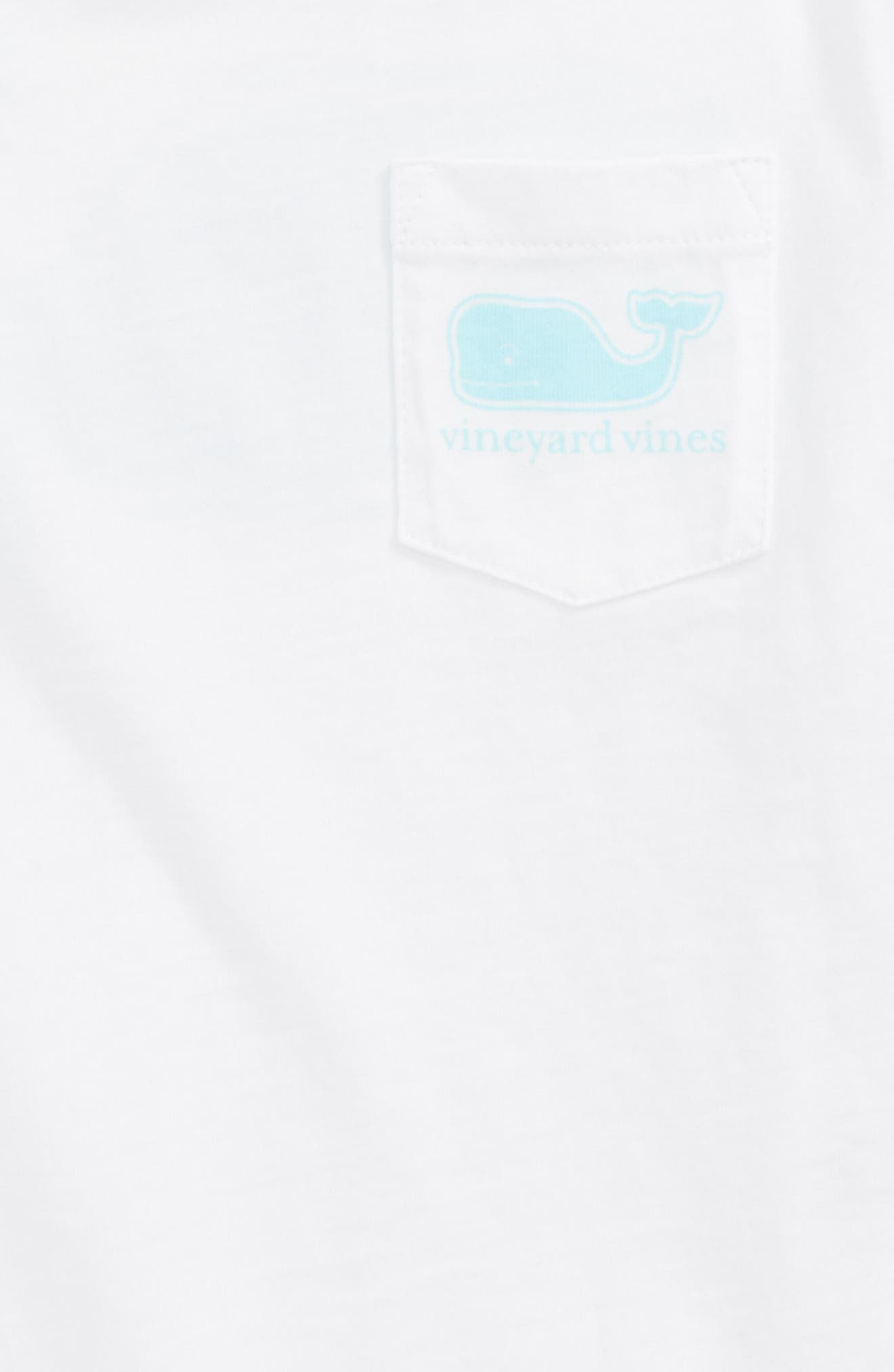 Whale Pocket Tee,                             Alternate thumbnail 3, color,                             White Cap
