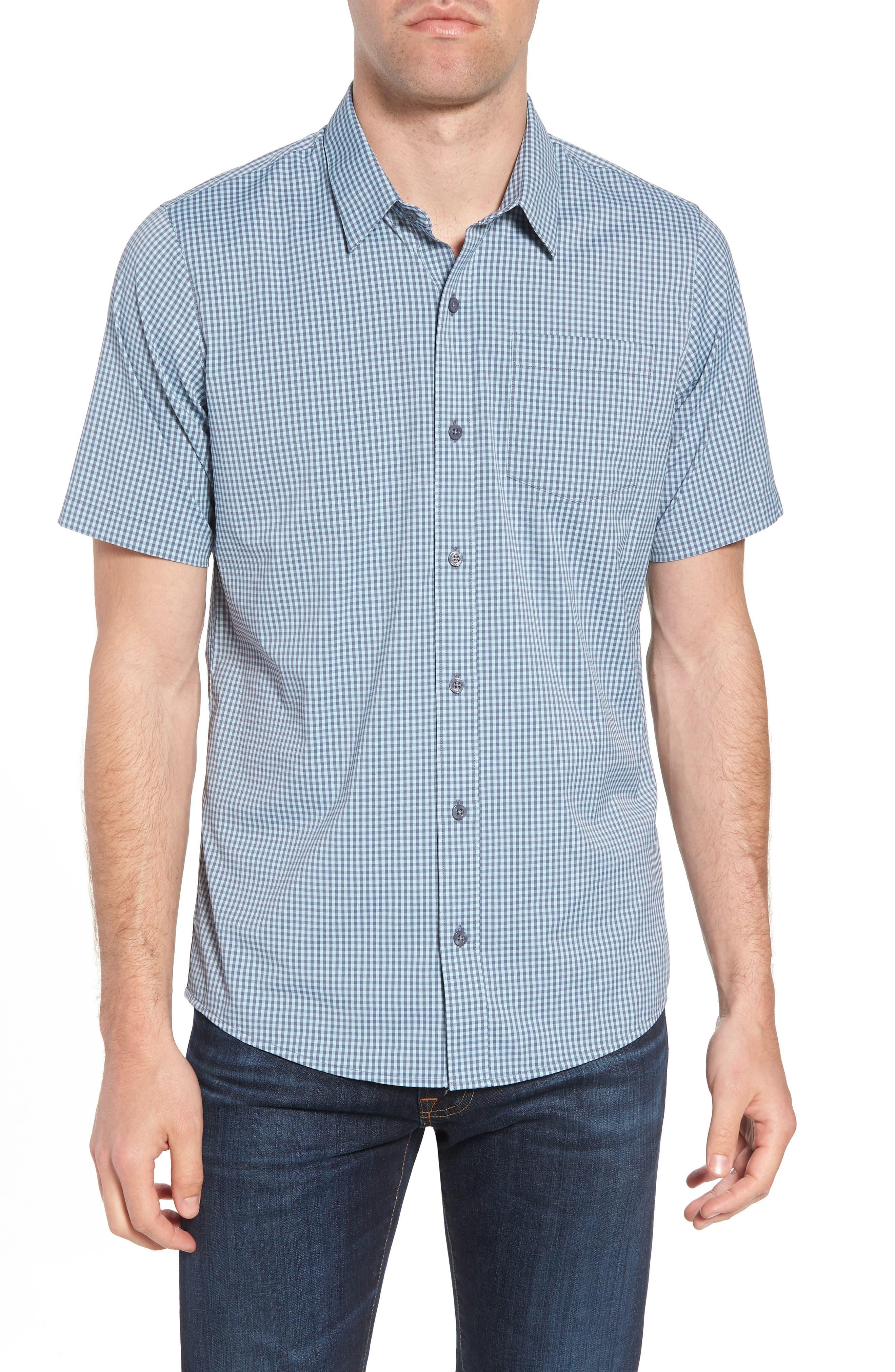 Gygax Regular Fit Sport Shirt,                         Main,                         color, Porcelain Blue
