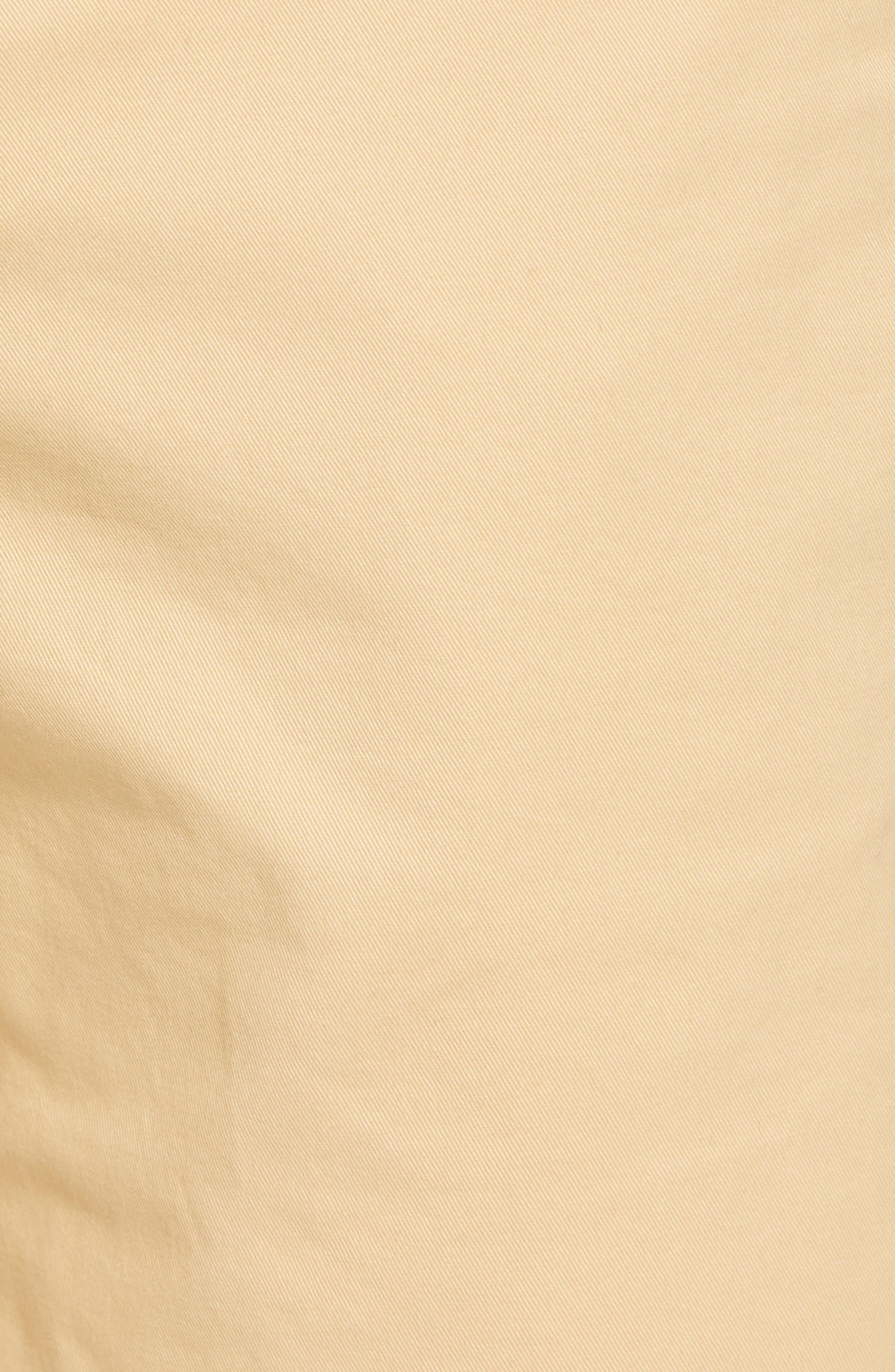 Stretch Washed Chino 11-Inch Shorts,                             Alternate thumbnail 5, color,                             Gold Khaki