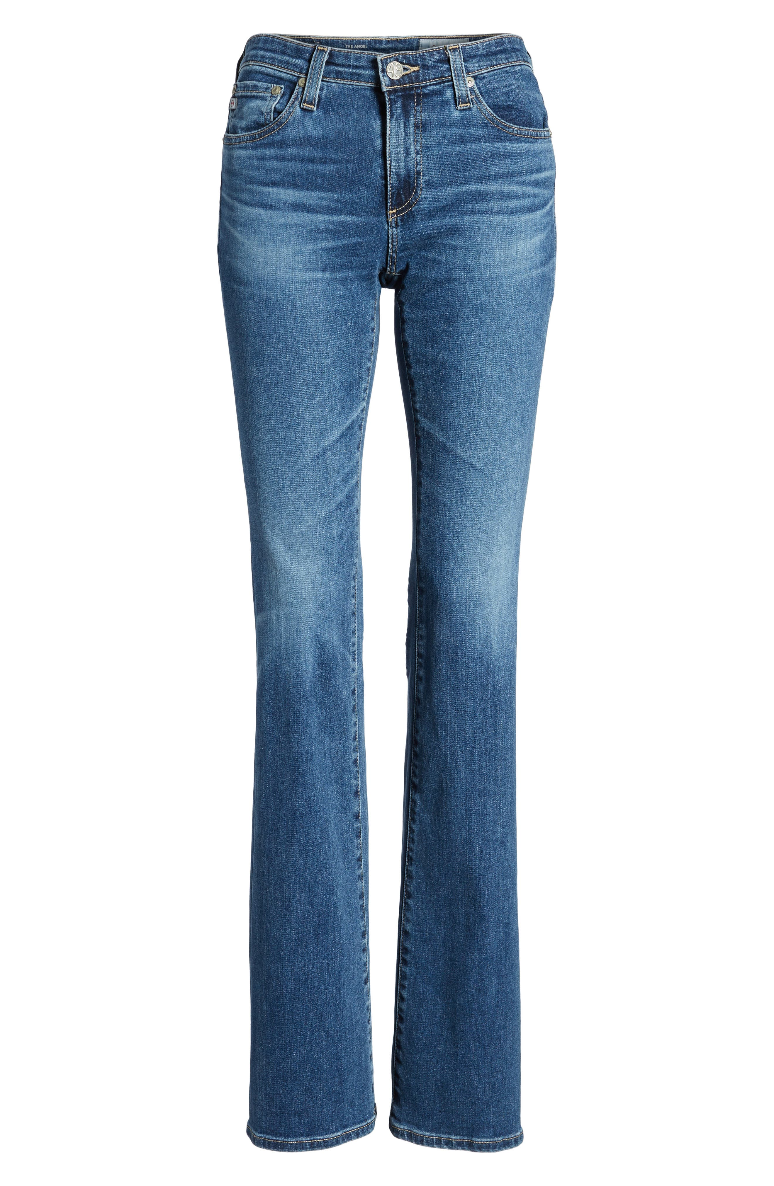 Angel Flare Jeans,                             Alternate thumbnail 7, color,                             10 Years Cambria