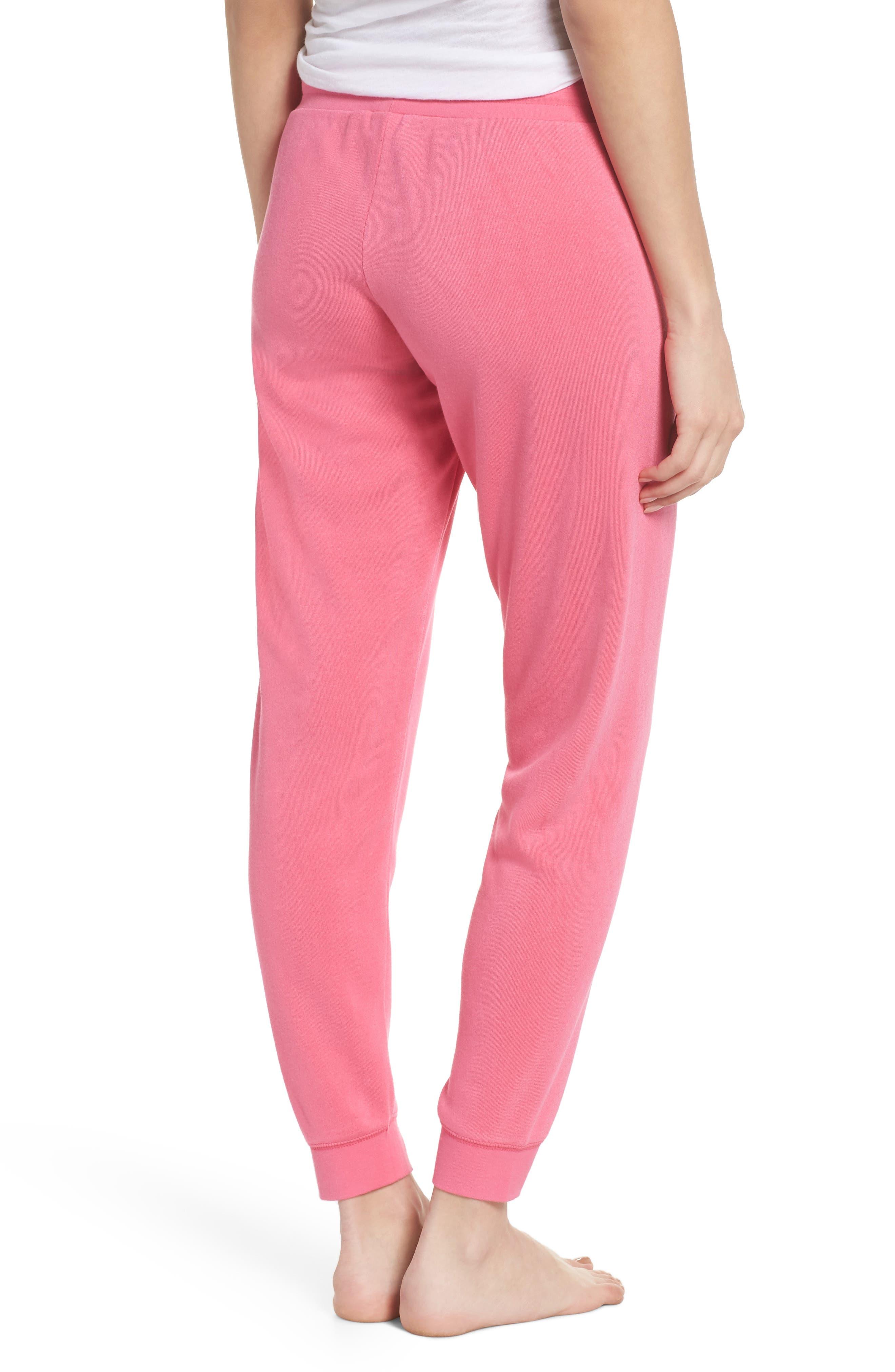 Firecracker Jogger Pajama Pants,                             Alternate thumbnail 2, color,                             Pink Fandango