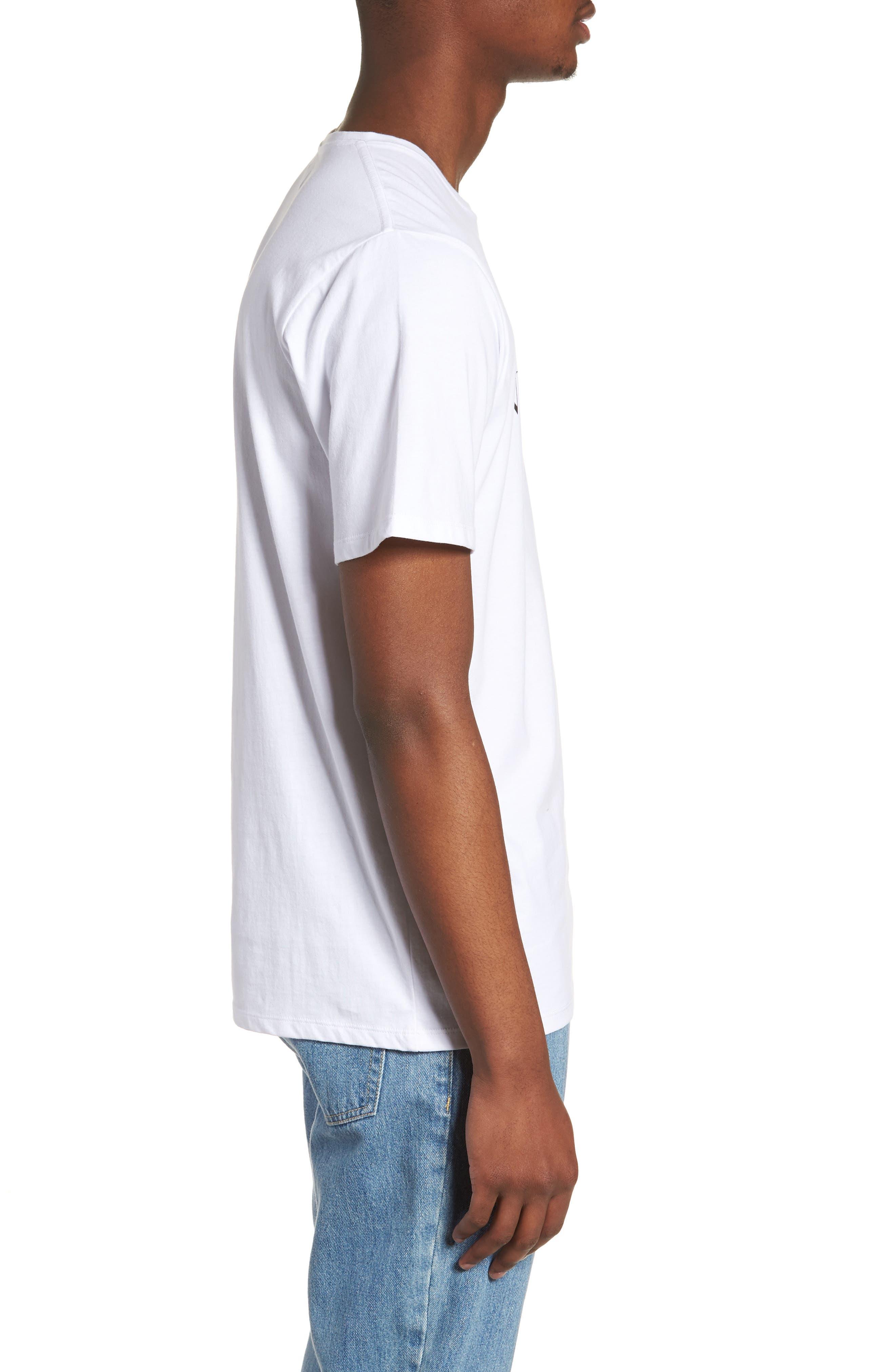 Miller Standard T-Shirt,                             Alternate thumbnail 3, color,                             White