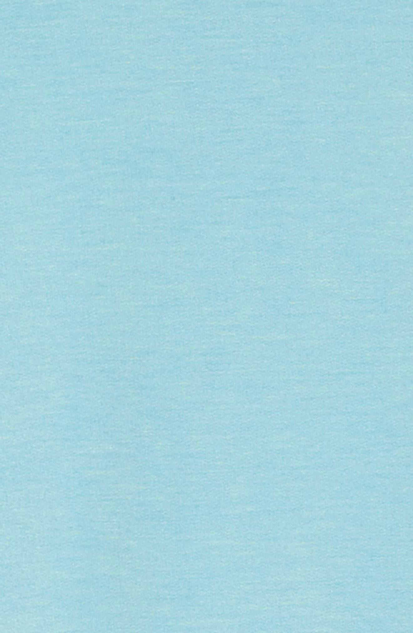 Tassel Cold Shoulder Dress,                             Alternate thumbnail 3, color,                             Blue