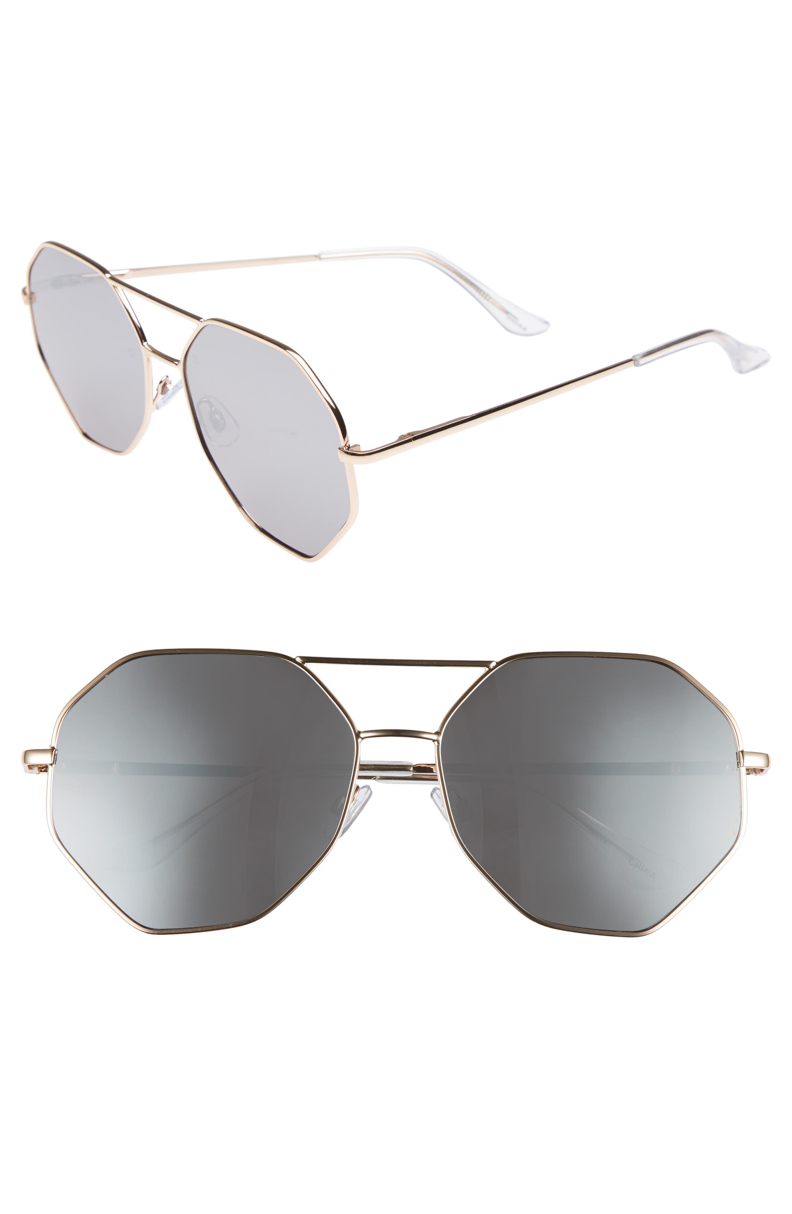 BP. Hexcon Aviator Sunglasses